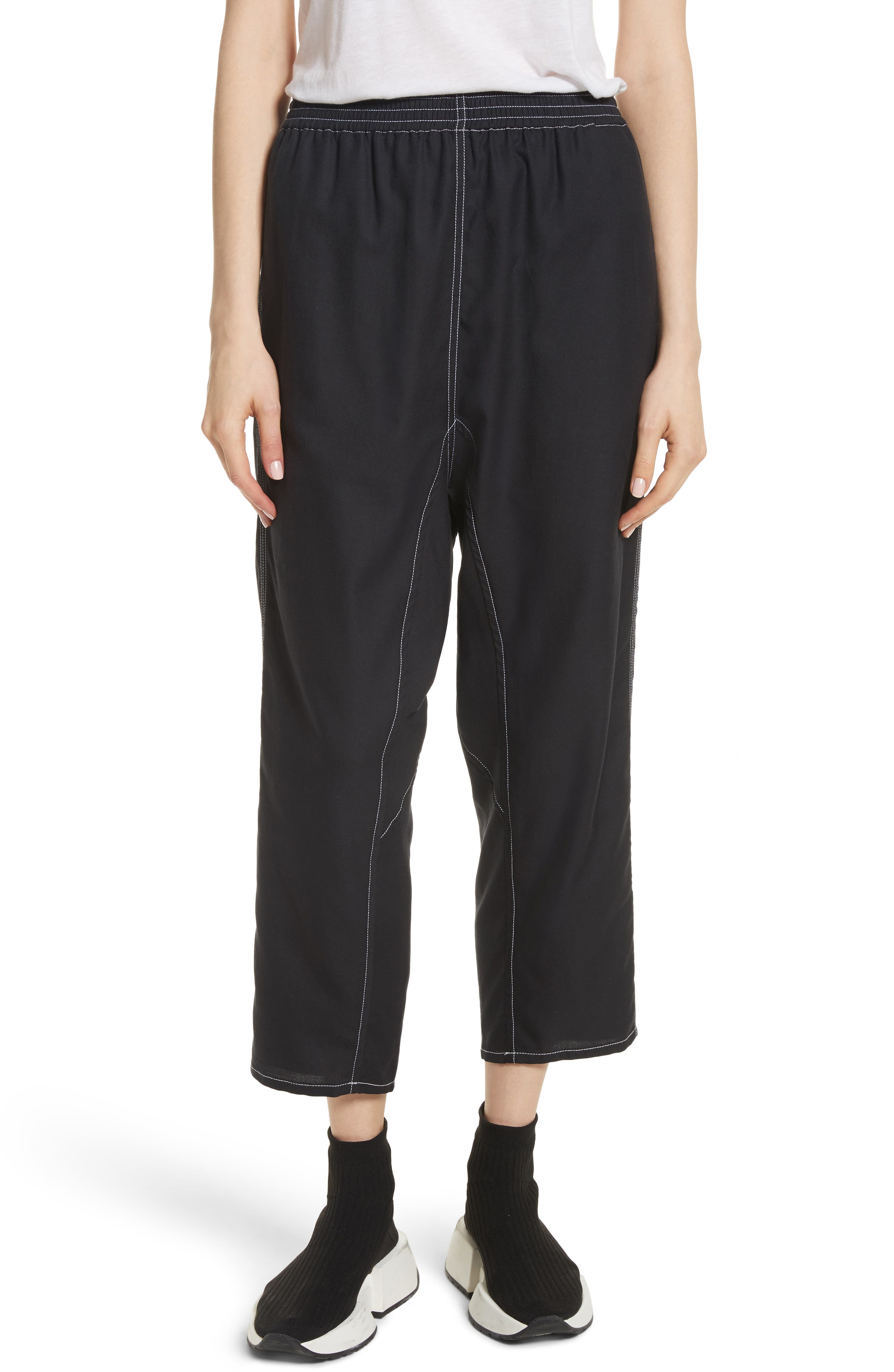 MM6 Maison Margiela Crop Pants