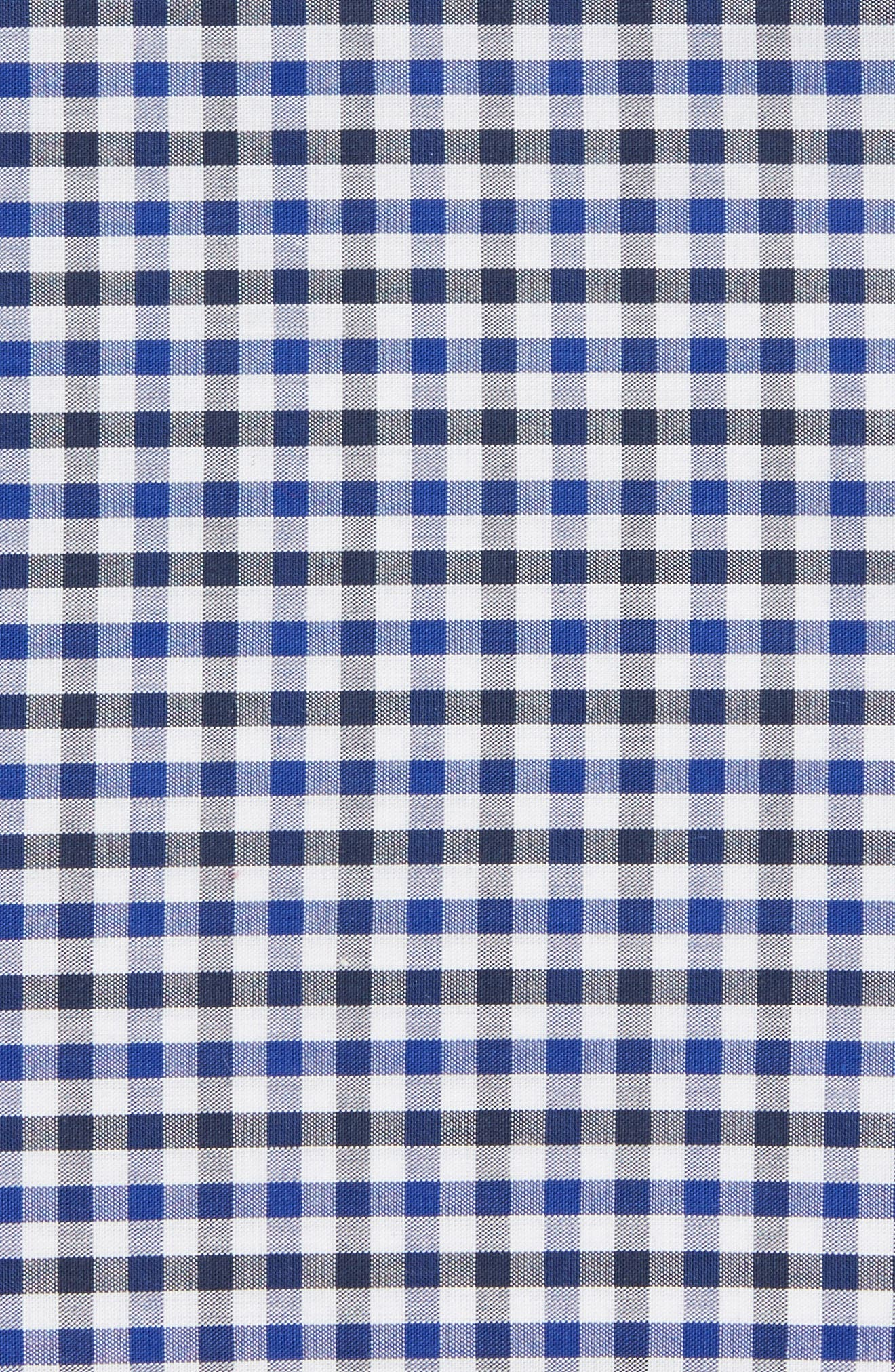 Alternate Image 3  - Nordstrom Picnic Gingham Pocket Square (Big Boys)