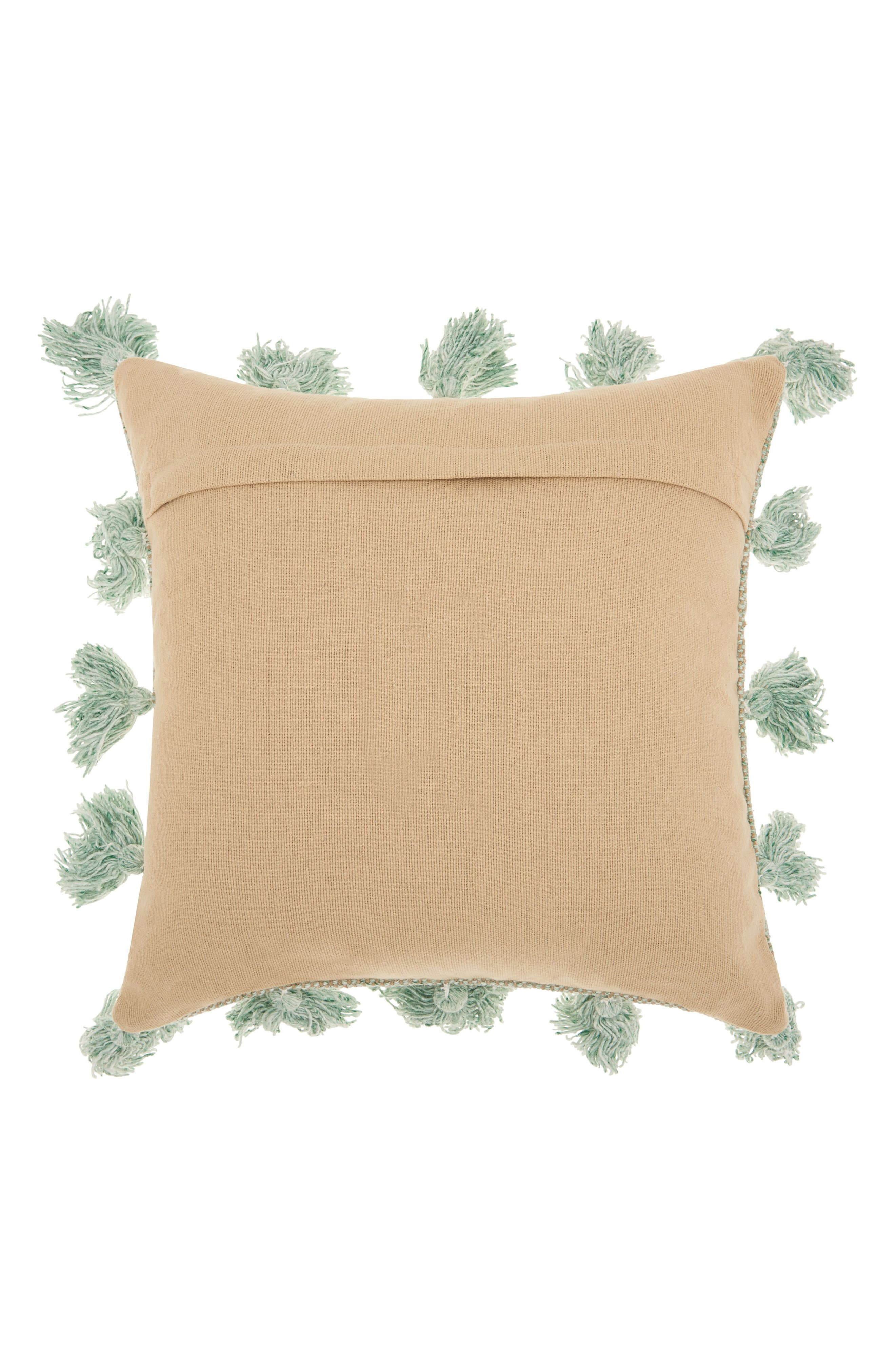 Alternate Image 2  - Mina Victory Canvas Accent Pillow