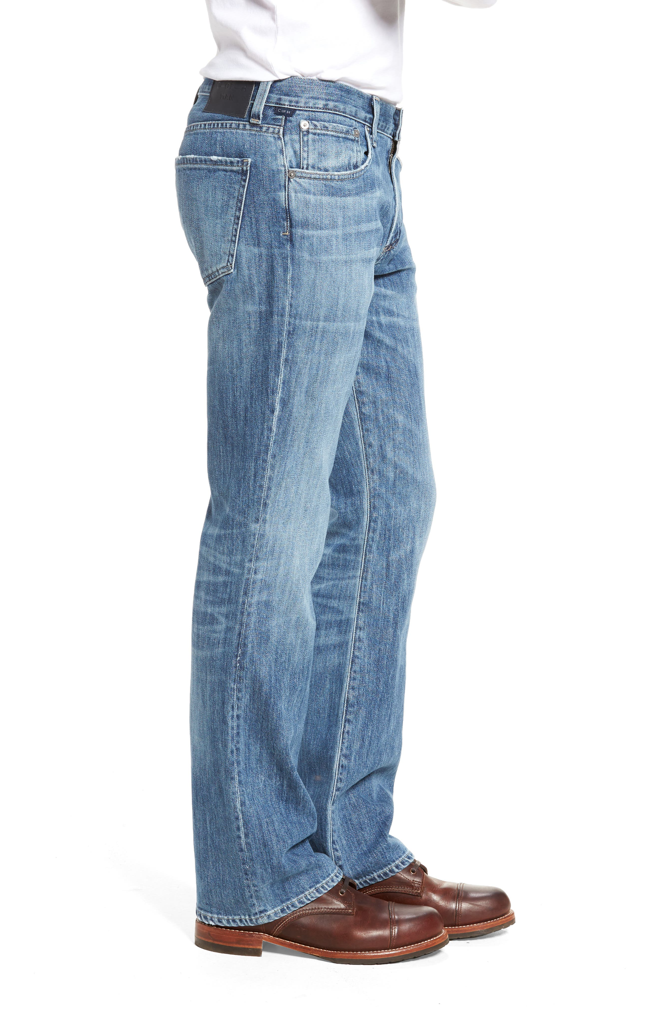 Bootcut Jeans,                             Alternate thumbnail 3, color,                             Colebrook