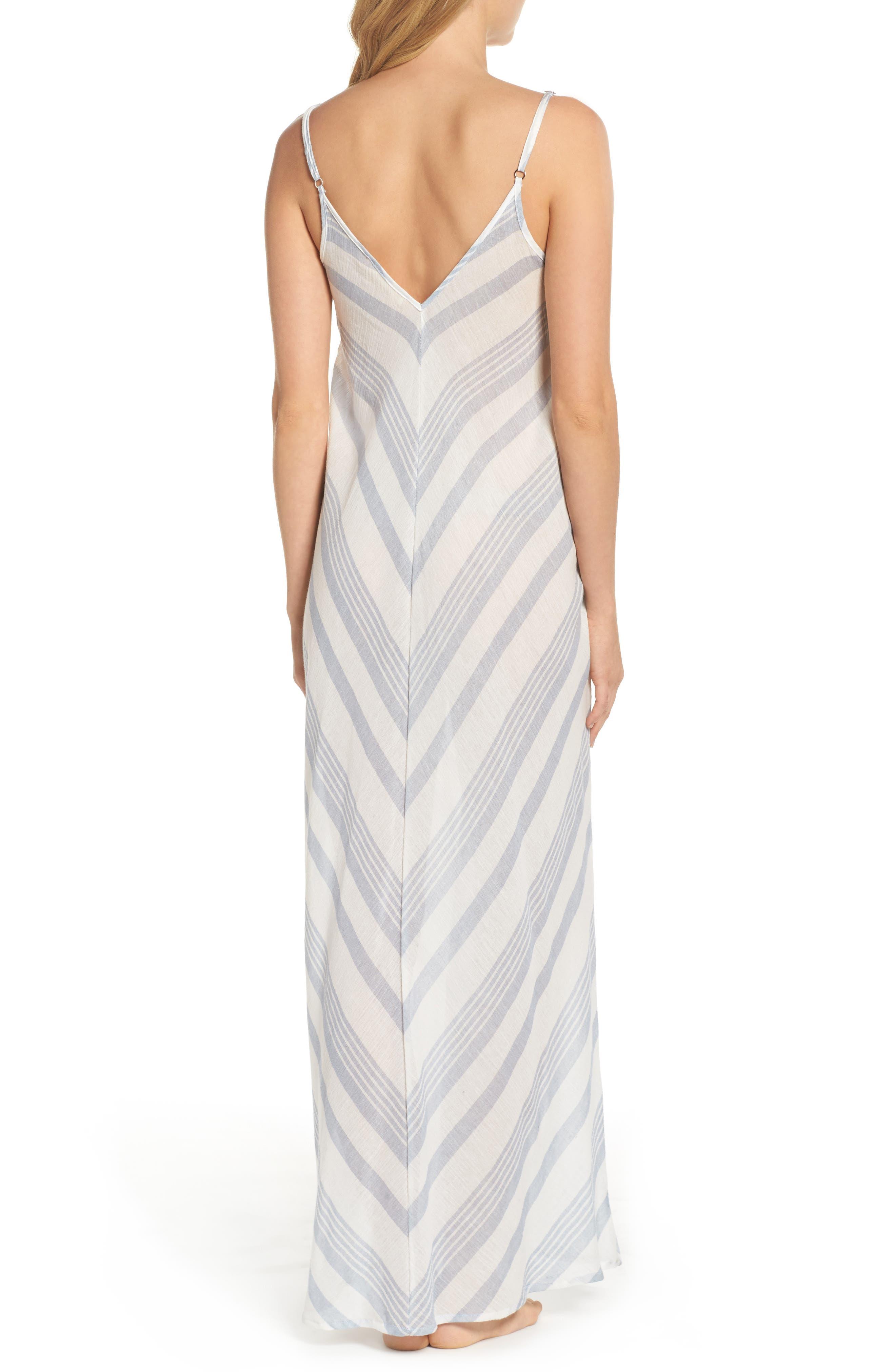 Alternate Image 2  - Elan V-Back Cover-Up Maxi Dress