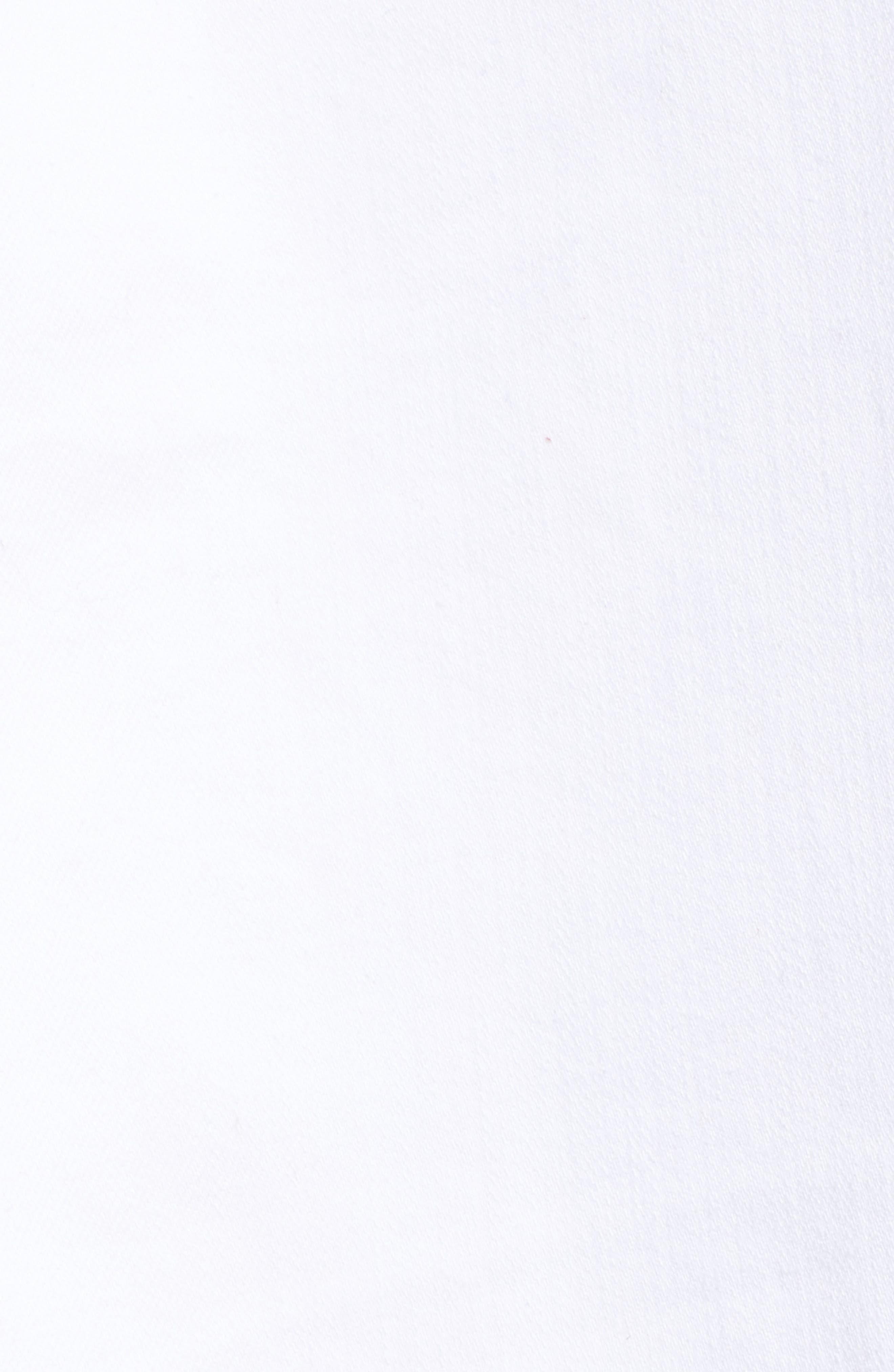 Release Hem Skinny Jeans,                             Alternate thumbnail 6, color,                             White