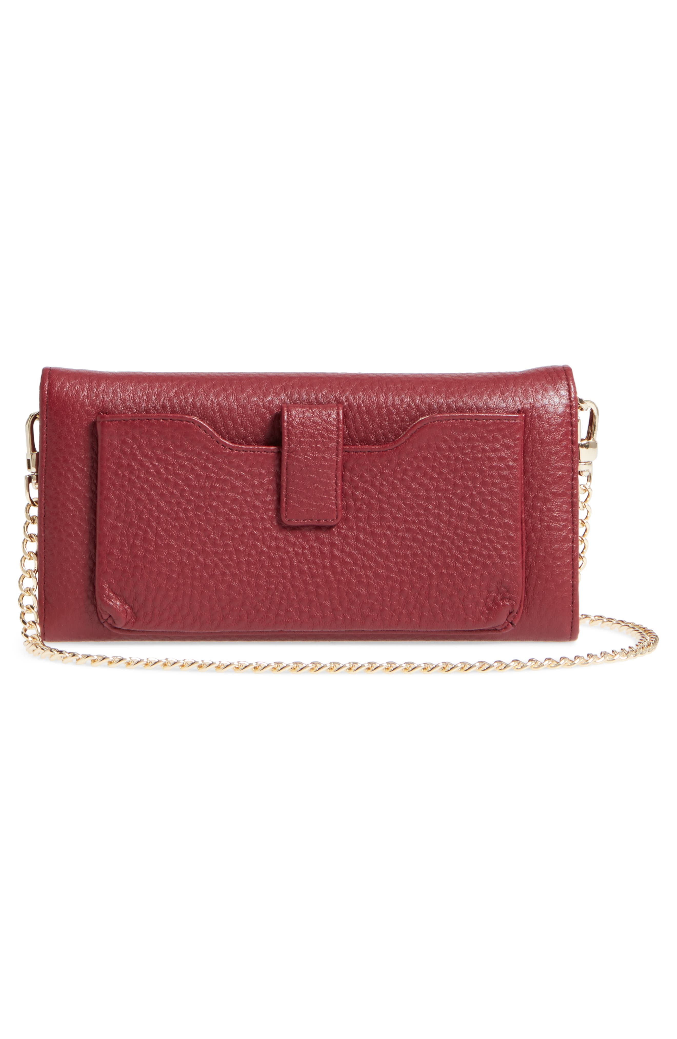 Alternate Image 3  - Céline Dion Adagio Leather Crossbody Wallet