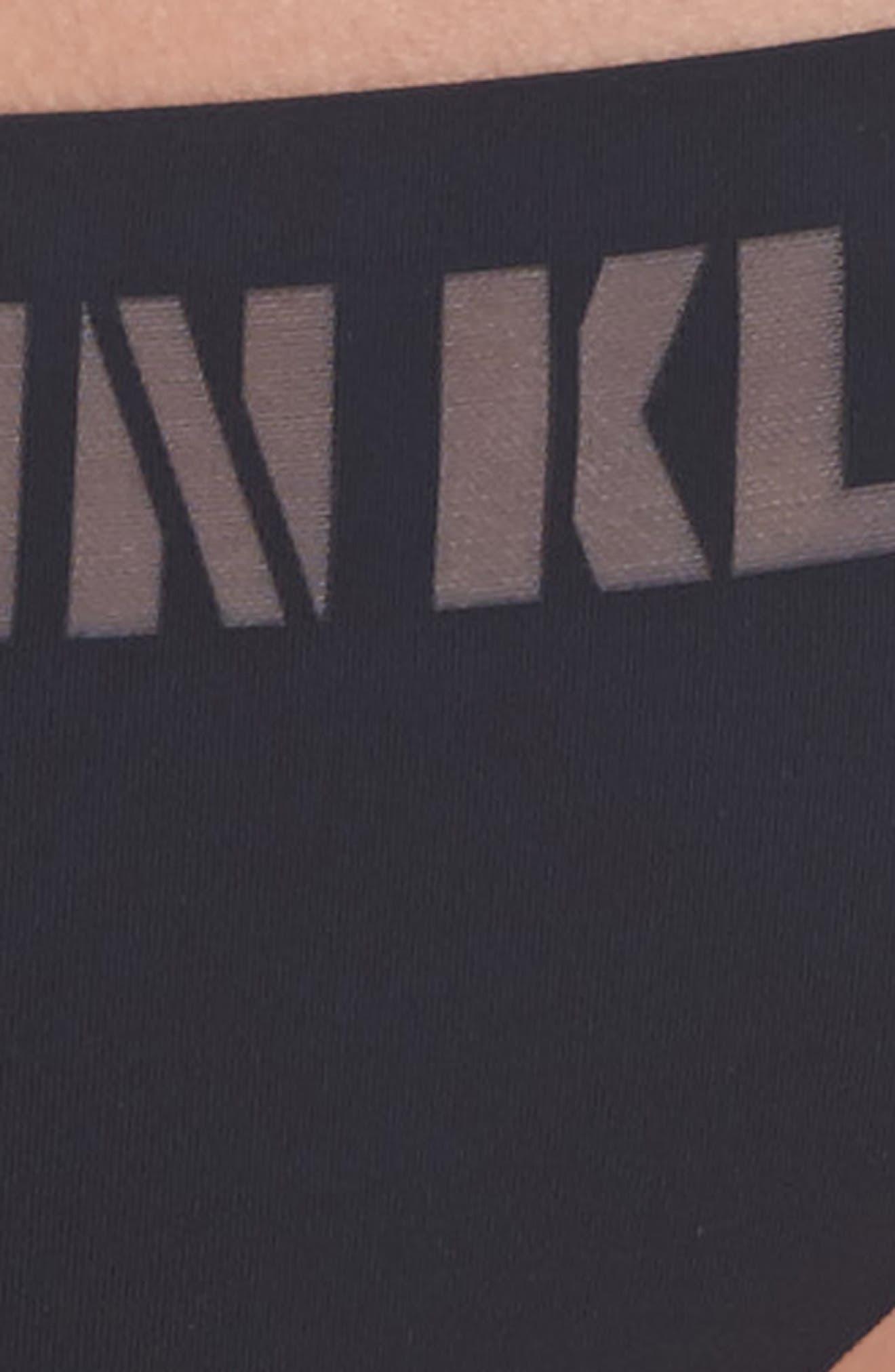 Alternate Image 4  - Calvin Klein Laser Thong