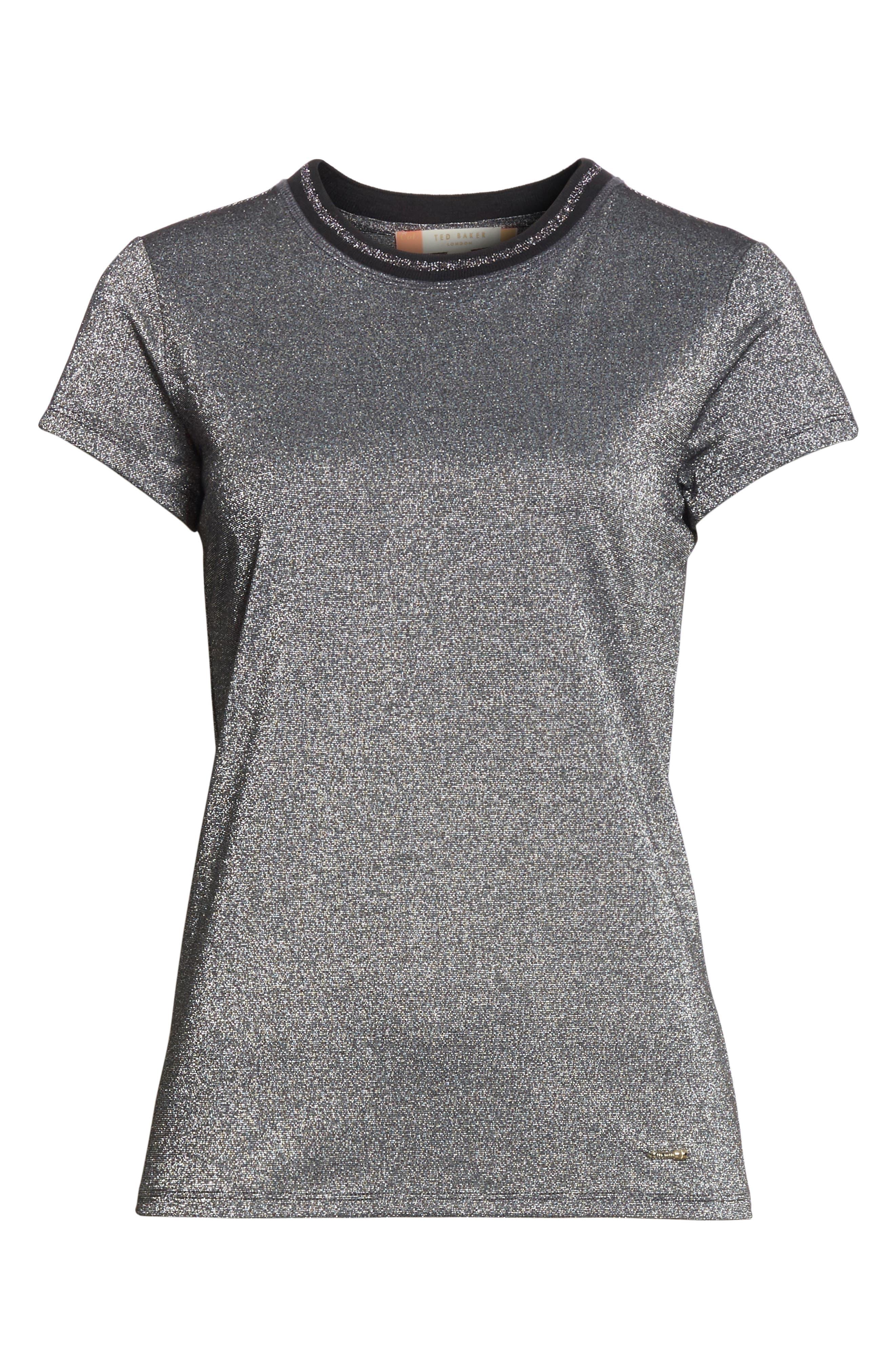 Alternate Image 6  - Ted Baker London Glitter Shirt
