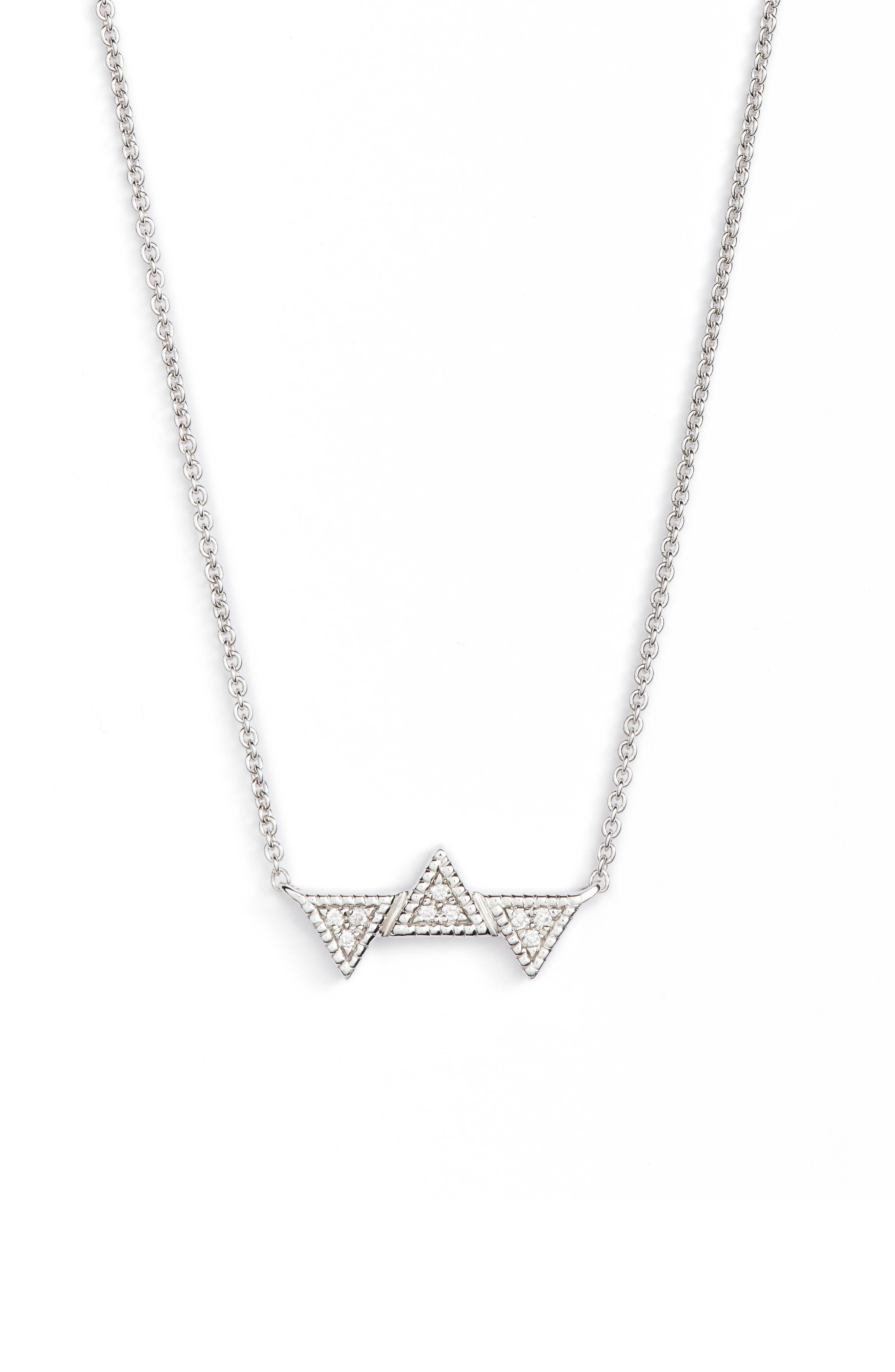 Main Image - Dana Rebecca Emily Sarah Diamond Pendant Necklace