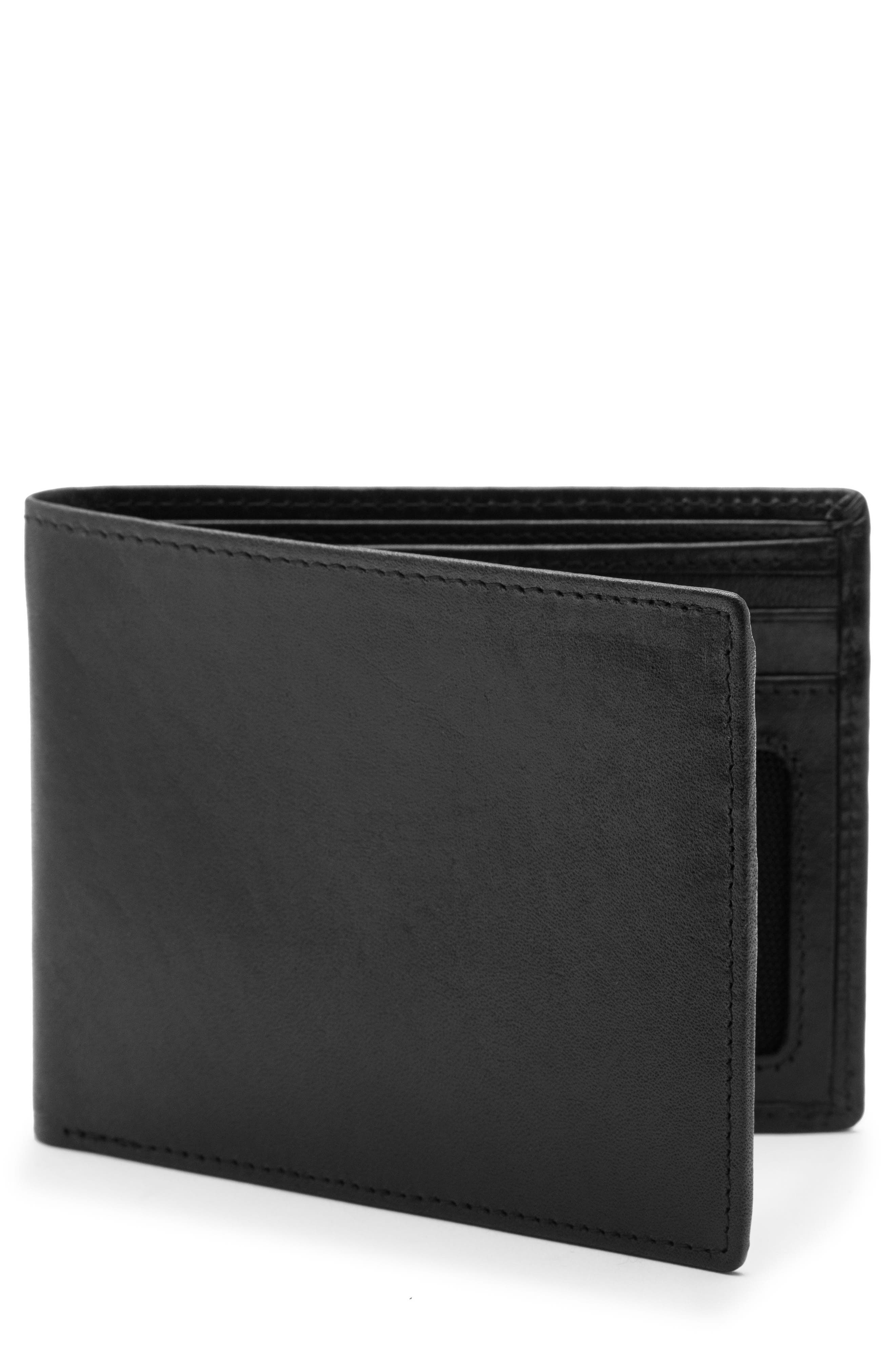 Bosca Vermont Executive ID Leather Wallet
