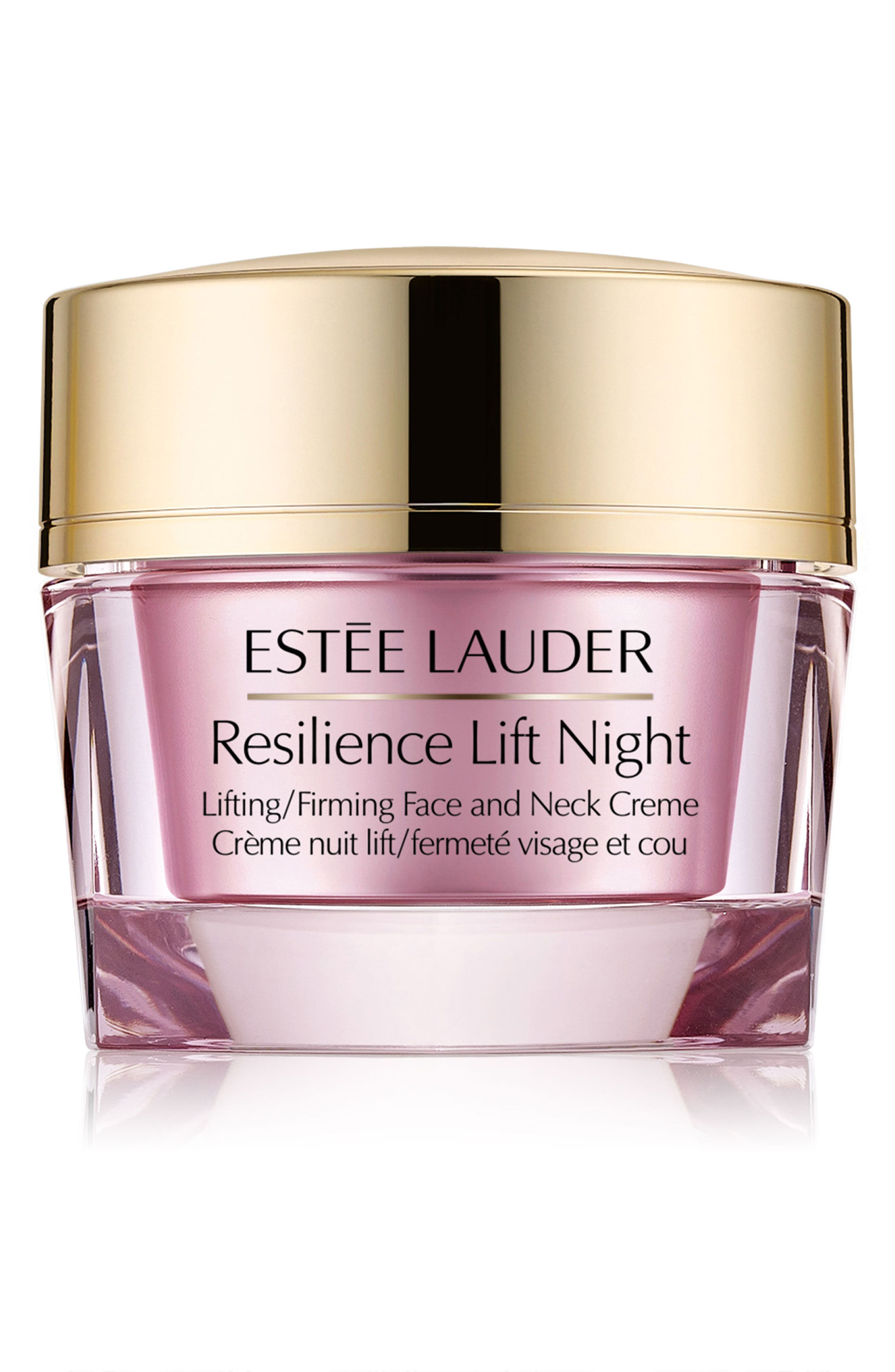 Main Image - Estée Lauder Resilience Lift Night Lifting/Firming Face and Neck Crème