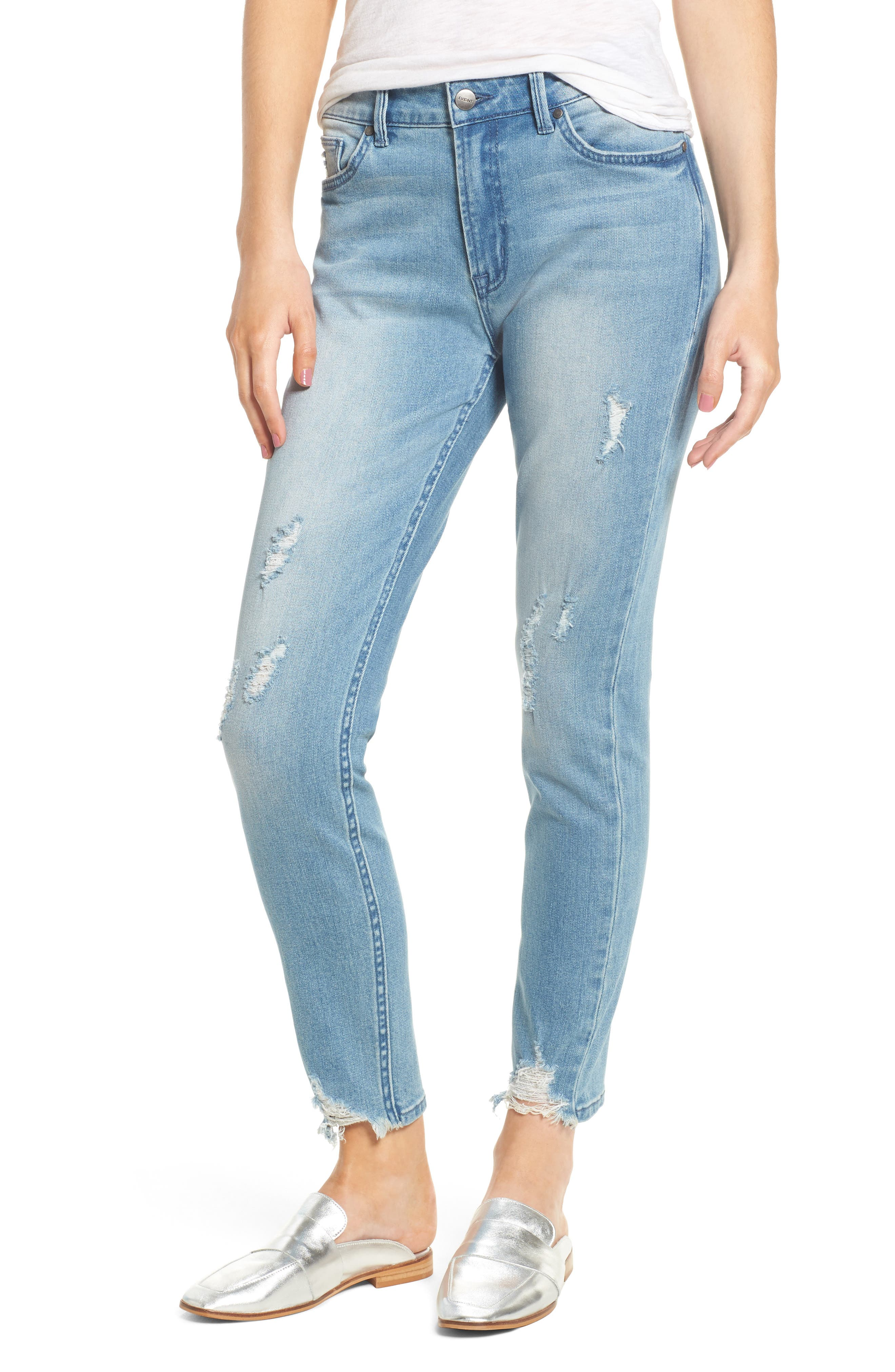 Alternate Image 1 Selected - EVIDNT Verona Skinny Jeans (Spring Street)