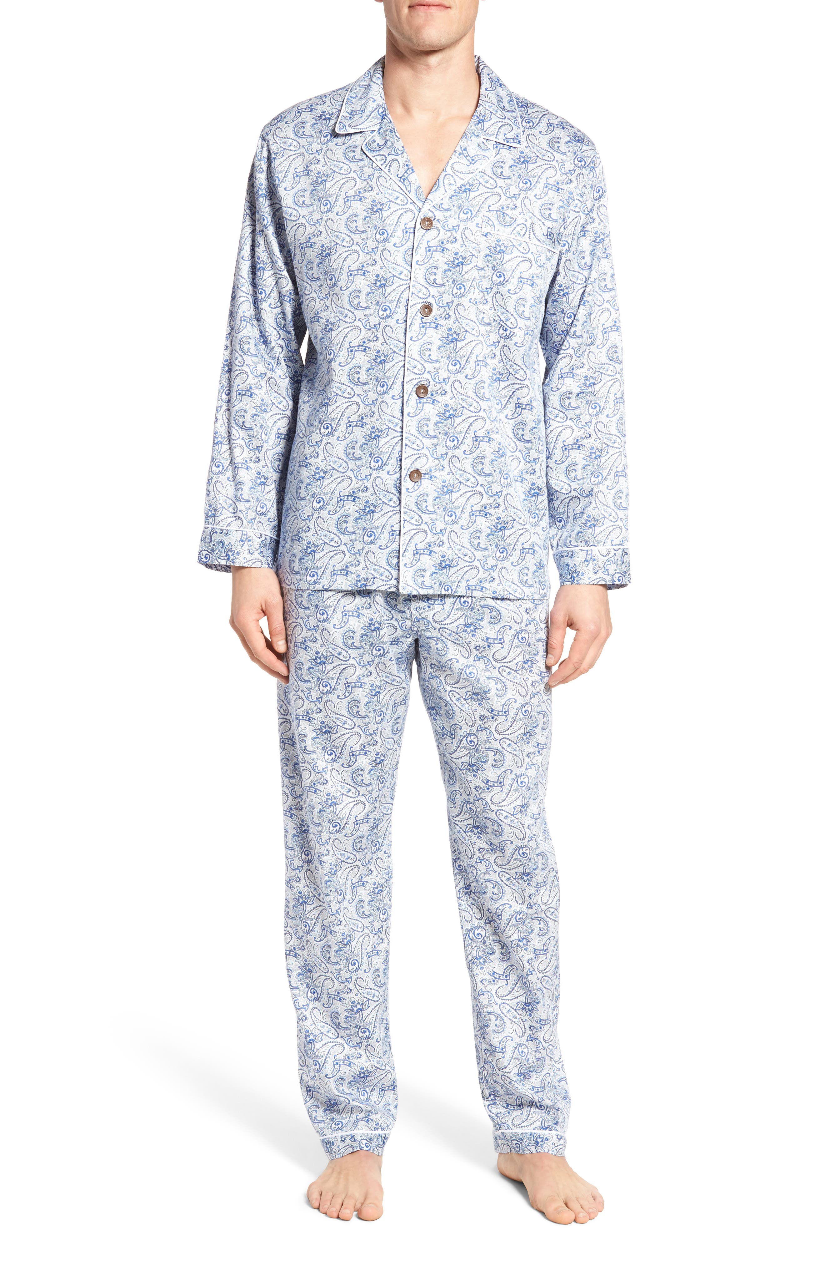 Alternate Image 1 Selected - Majestic International Sateen Pajamas
