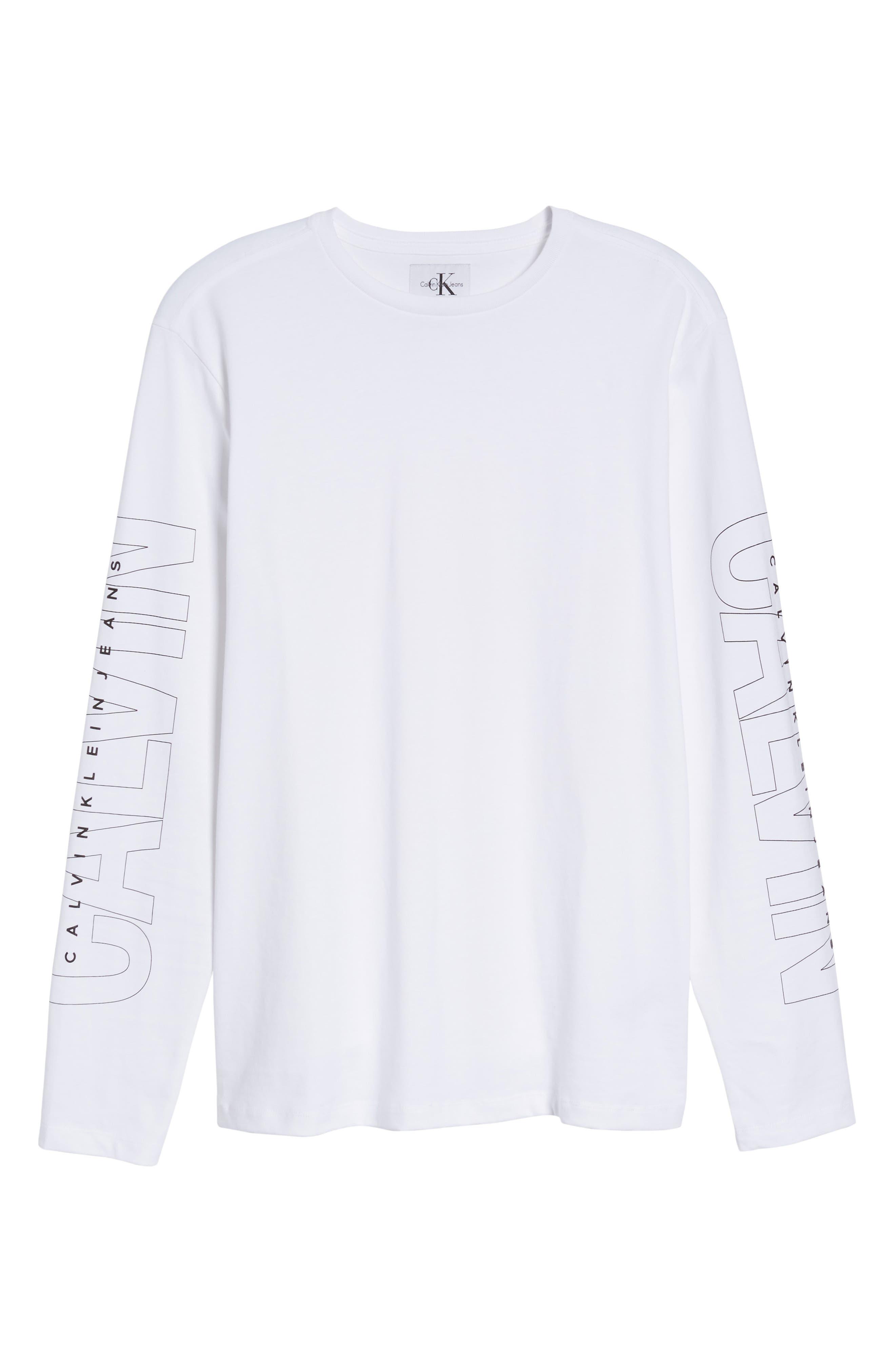 Alternate Image 6  - Calvin Klein Jeans Logo T-Shirt