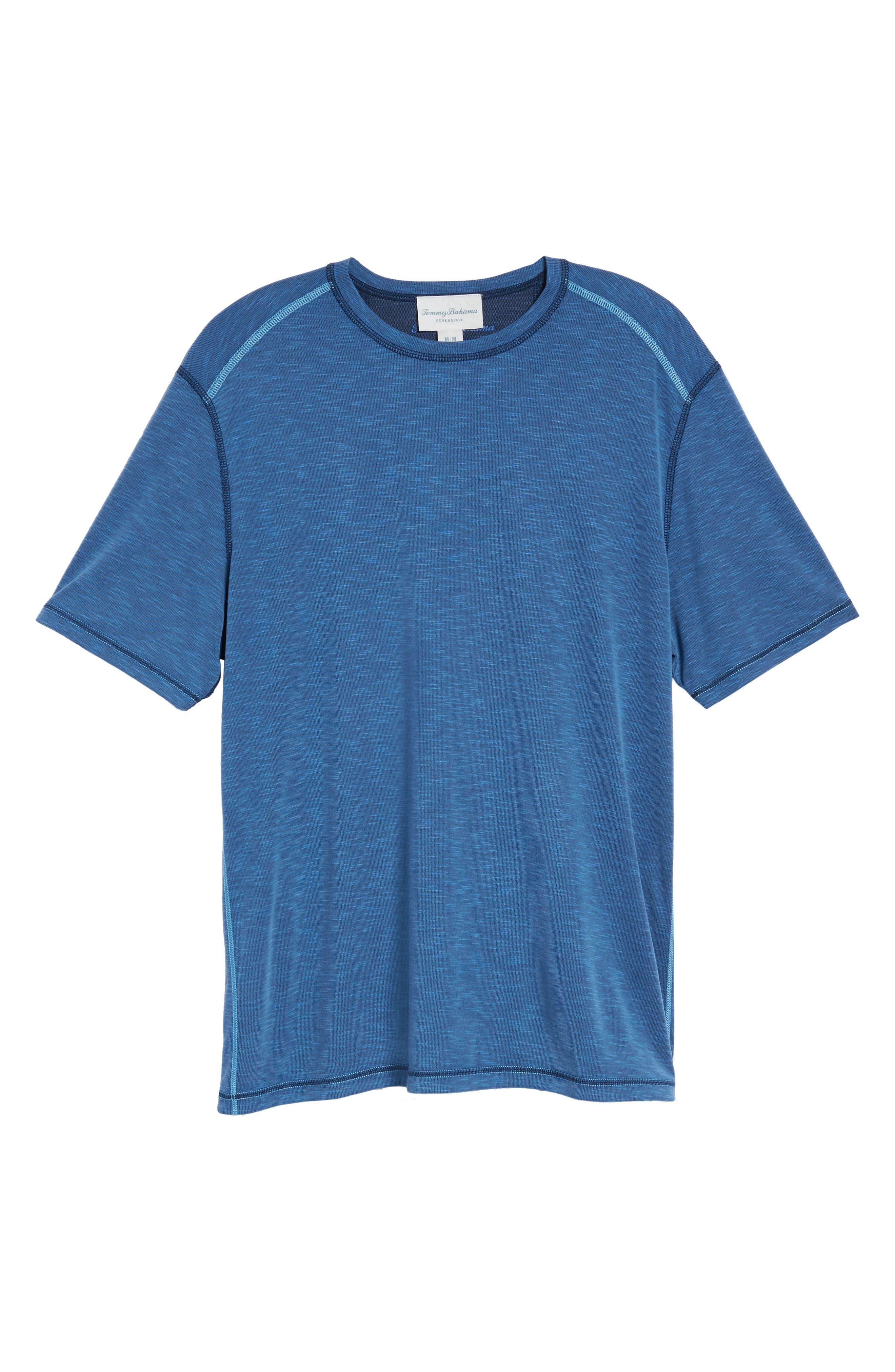 Flip Tide T-Shirt,                             Alternate thumbnail 7, color,                             Galaxy Blue