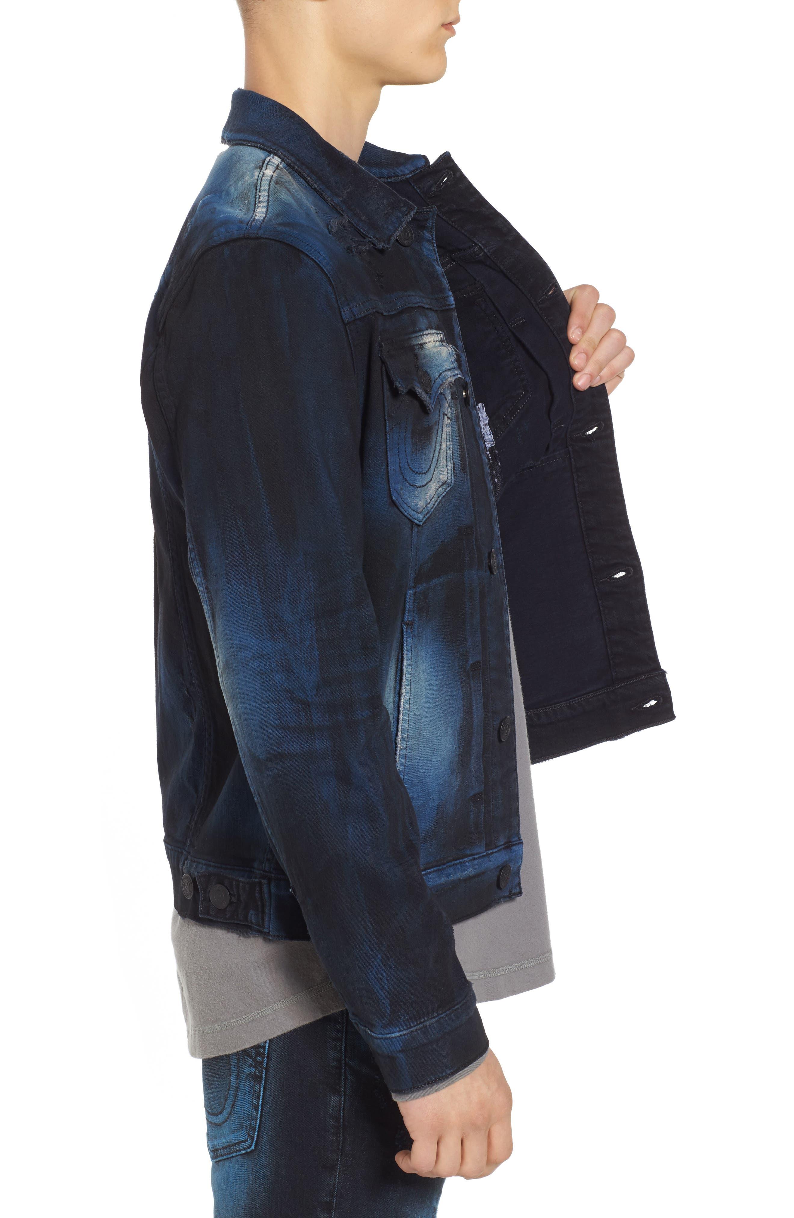 Alternate Image 3  - True Religion Brand Jeans Dylan Renegade Denim Jacket