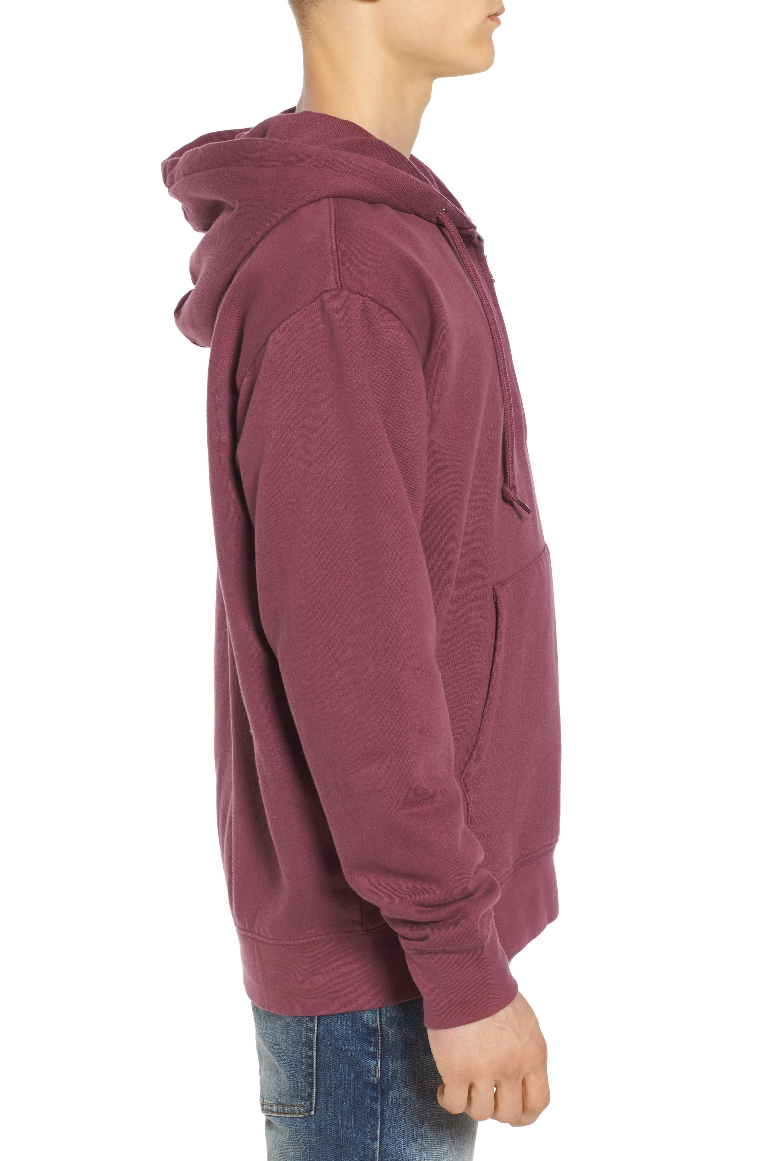 Alternate Image 3  - Obey Ennet Hooded Pullover