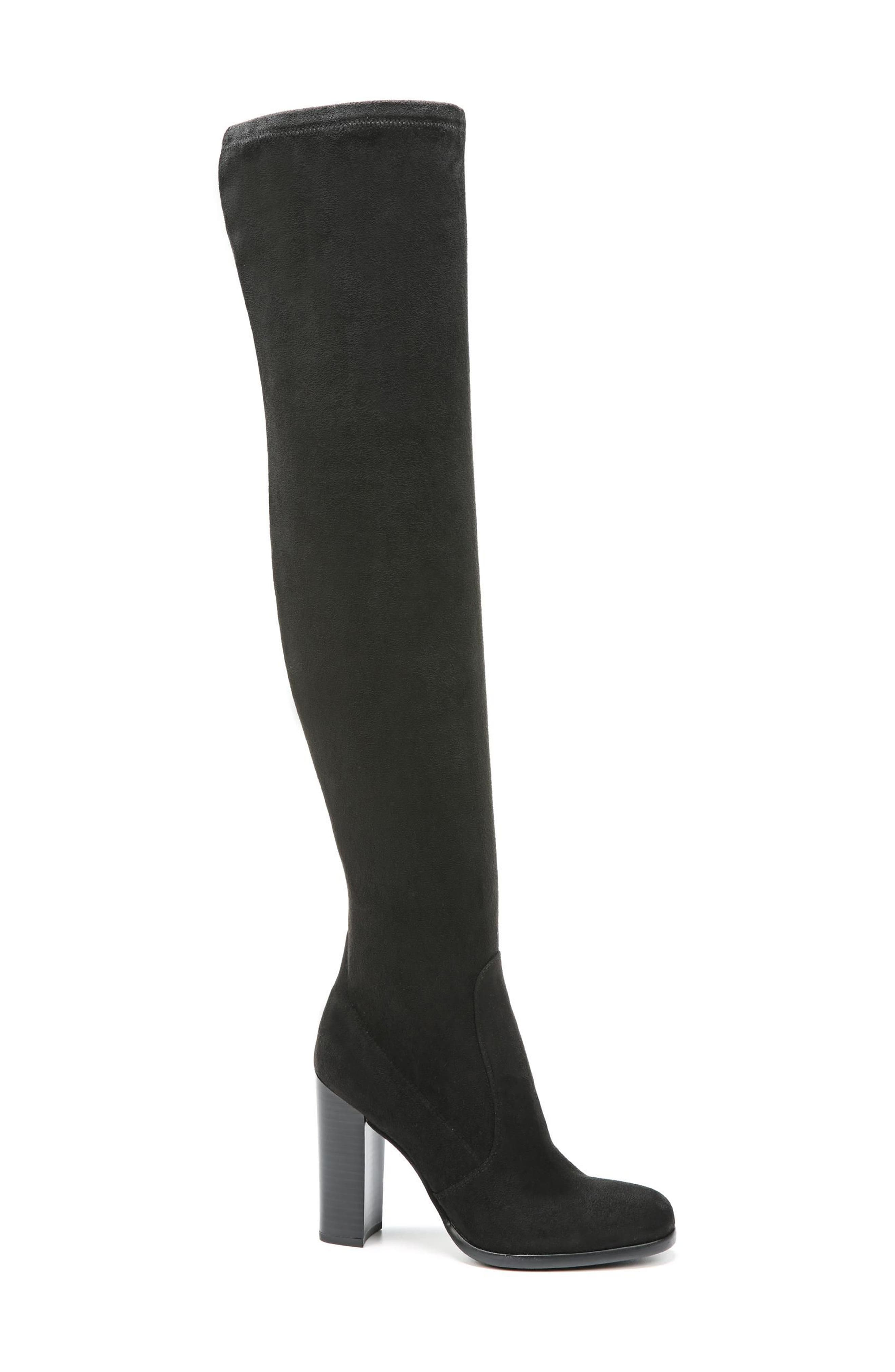 Vena 2 Over the Knee Boot,                             Alternate thumbnail 3, color,                             Black