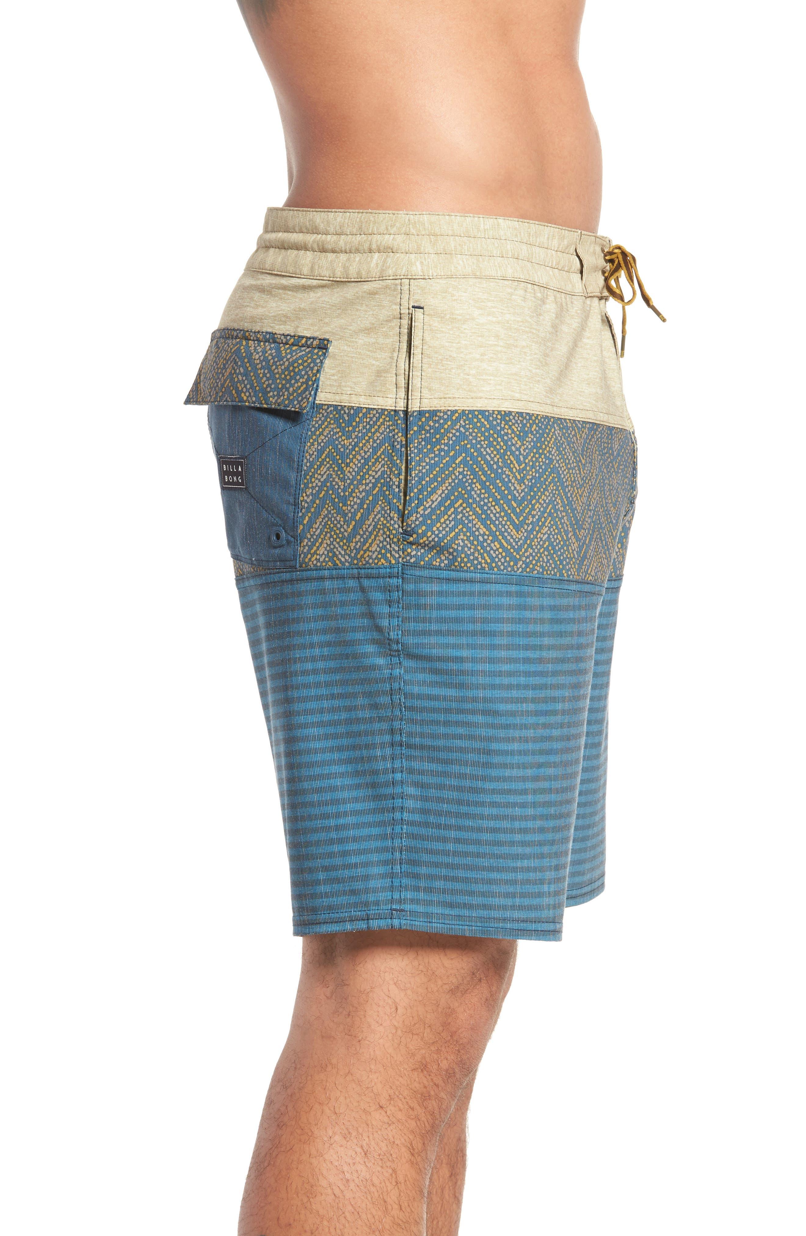 Tribong LT Board Shorts,                             Alternate thumbnail 3, color,                             Dijon
