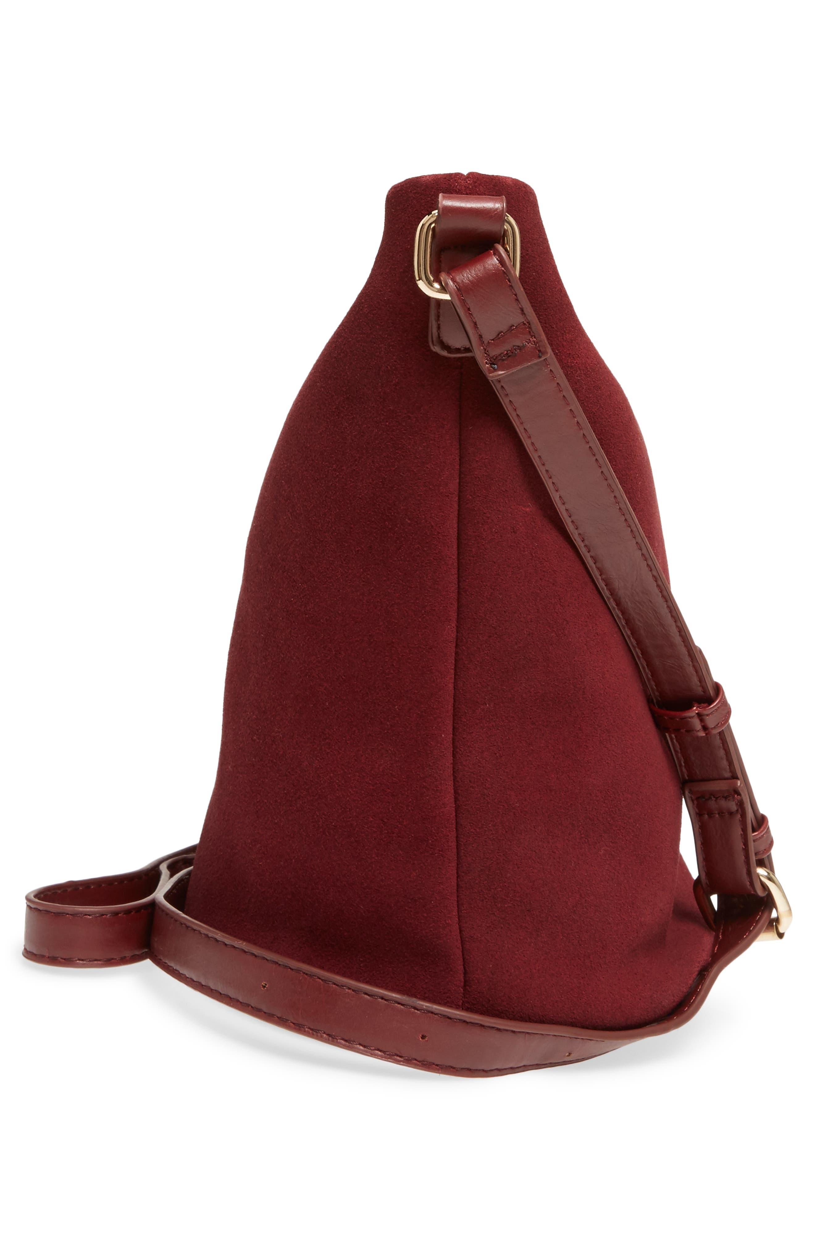 Alternate Image 5  - Sole Society Lana Slouchy Suede Crossbody Bag