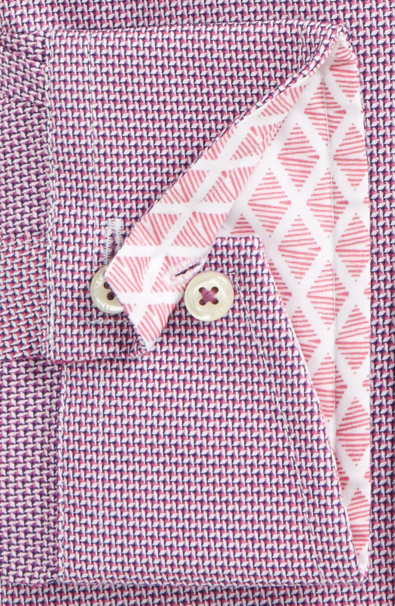 Alternate Image 2  - Ted Baker London Murgese Trim Fit Geometric Dress Shirt