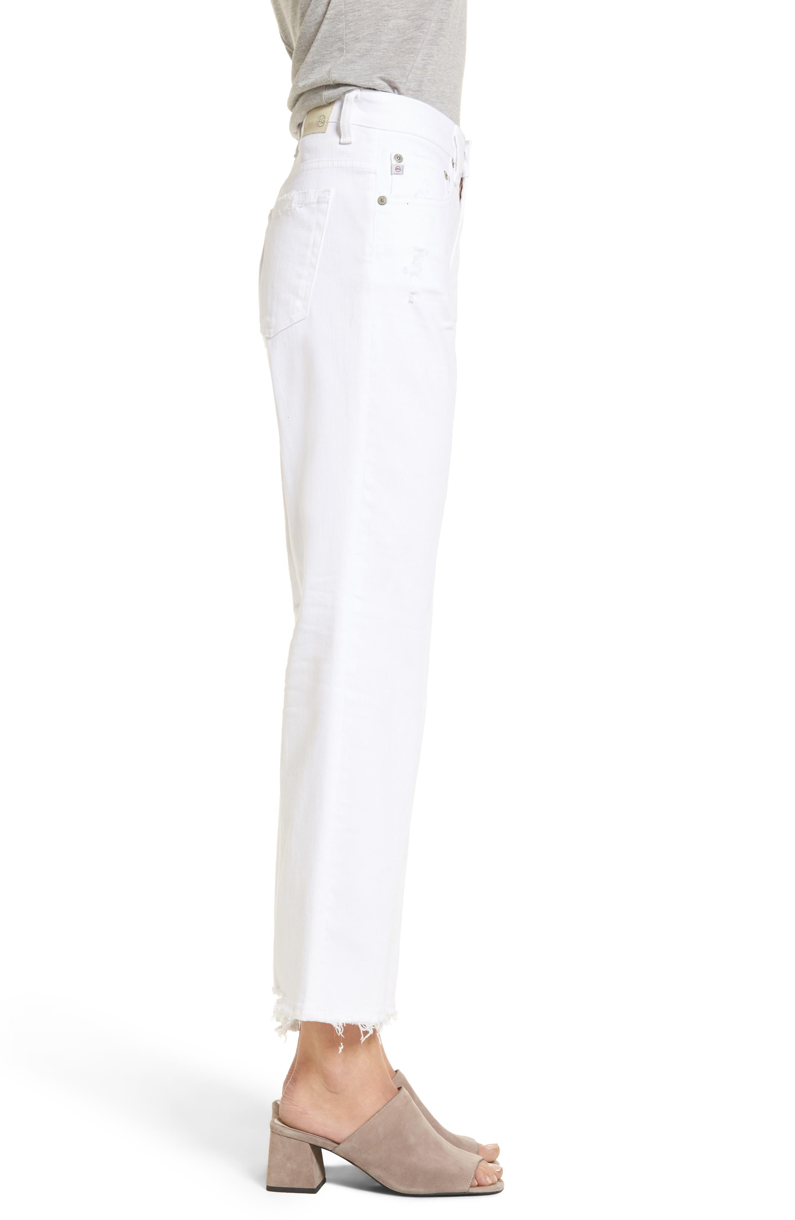Alternate Image 3  - AG The Rhett High Waist Crop Jeans (2 Years Classic)
