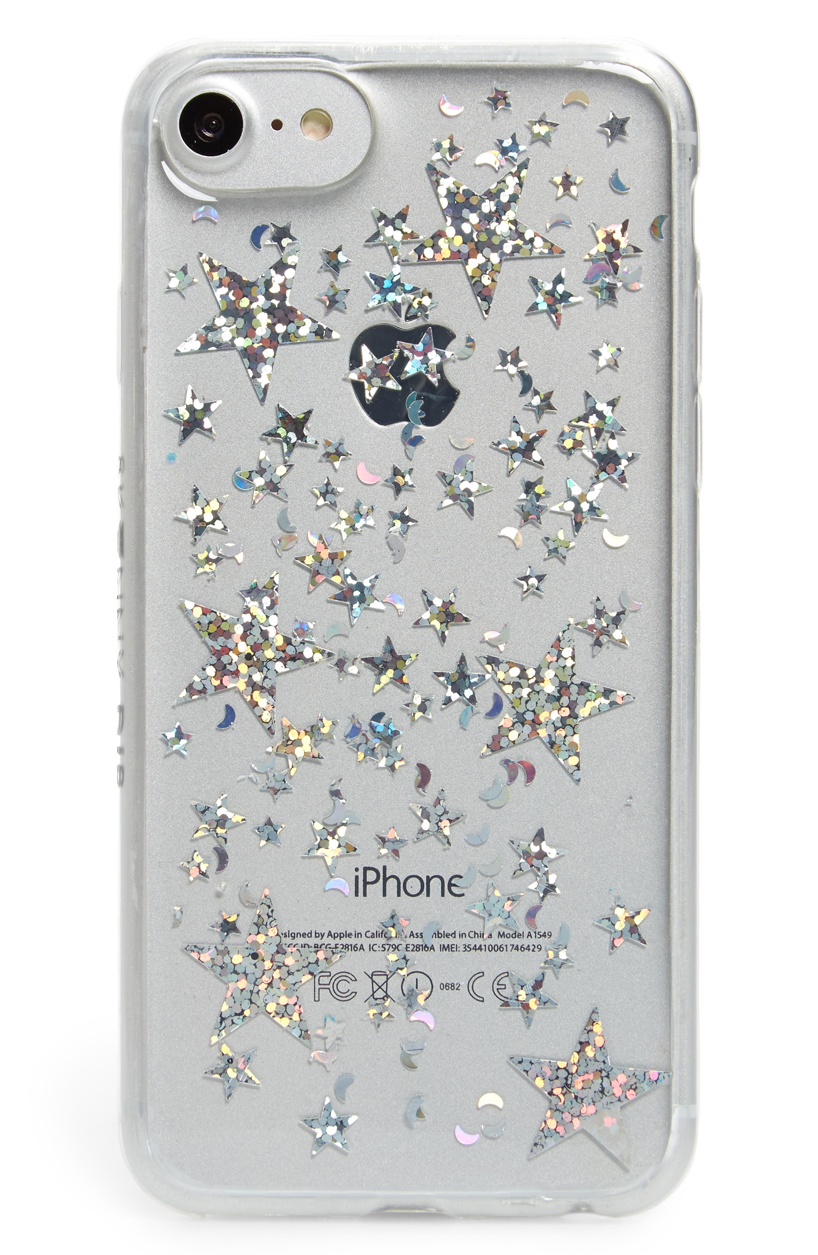 Skinny Dip Starship iPhone 6/6s/7/8 Plus Case,                         Main,                         color, Pink