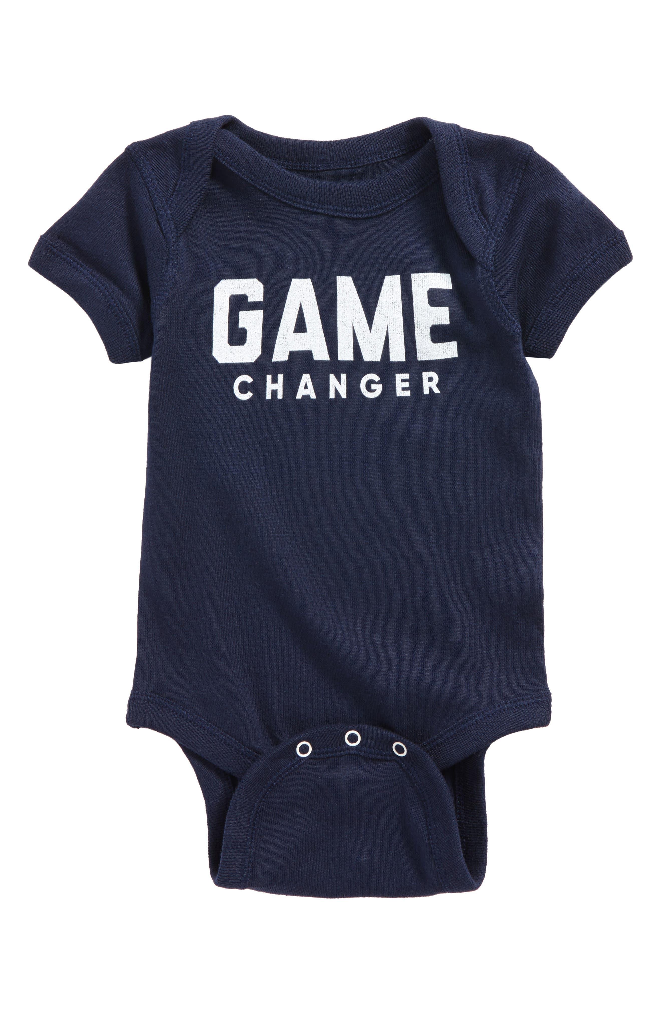 Alternate Image 1 Selected - Kid Dangerous Game Changer Bodysuit (Baby Boys)