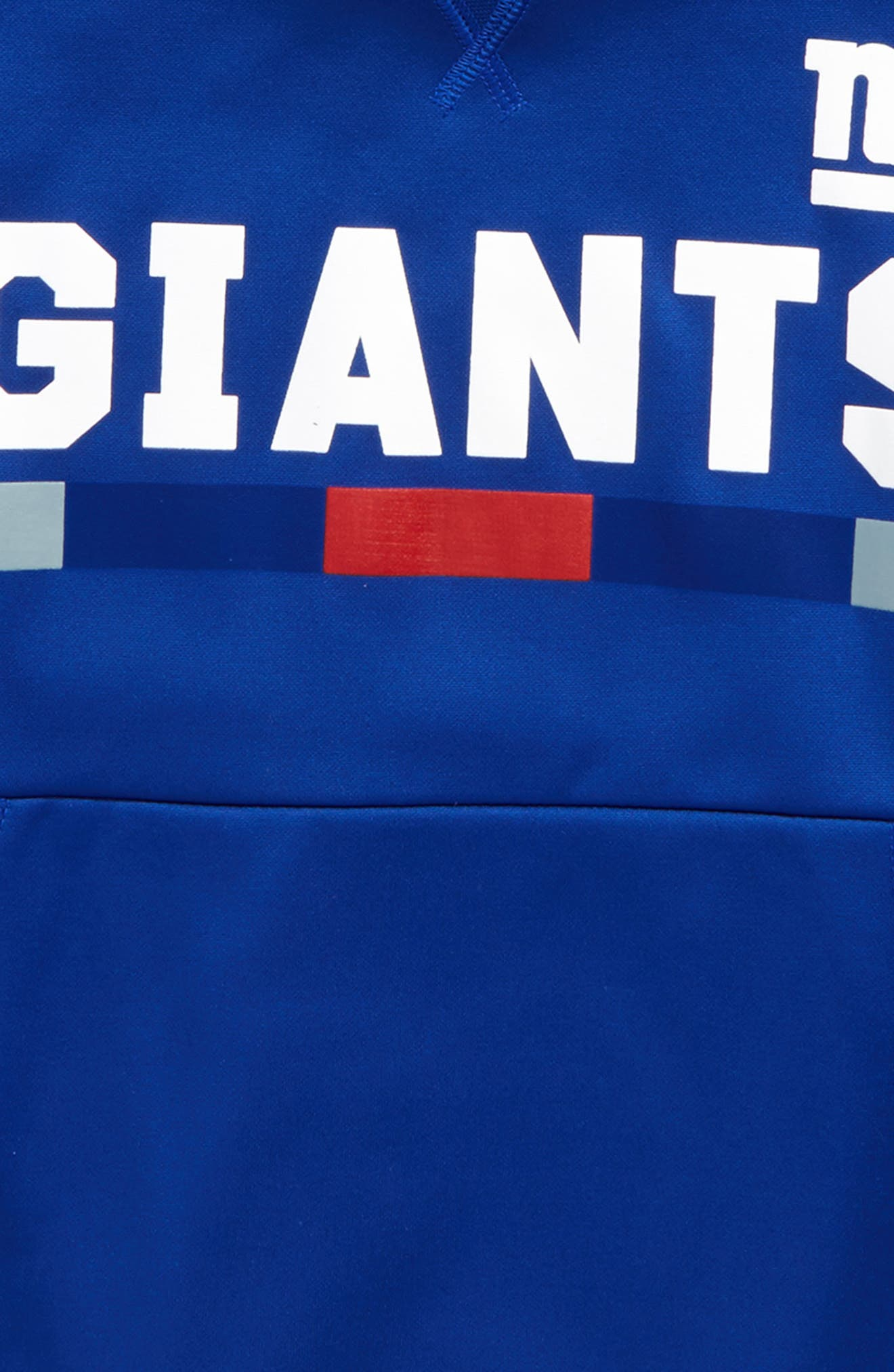 Alternate Image 2  - Nike Therma New York Giants Hoodie (Big Boys)
