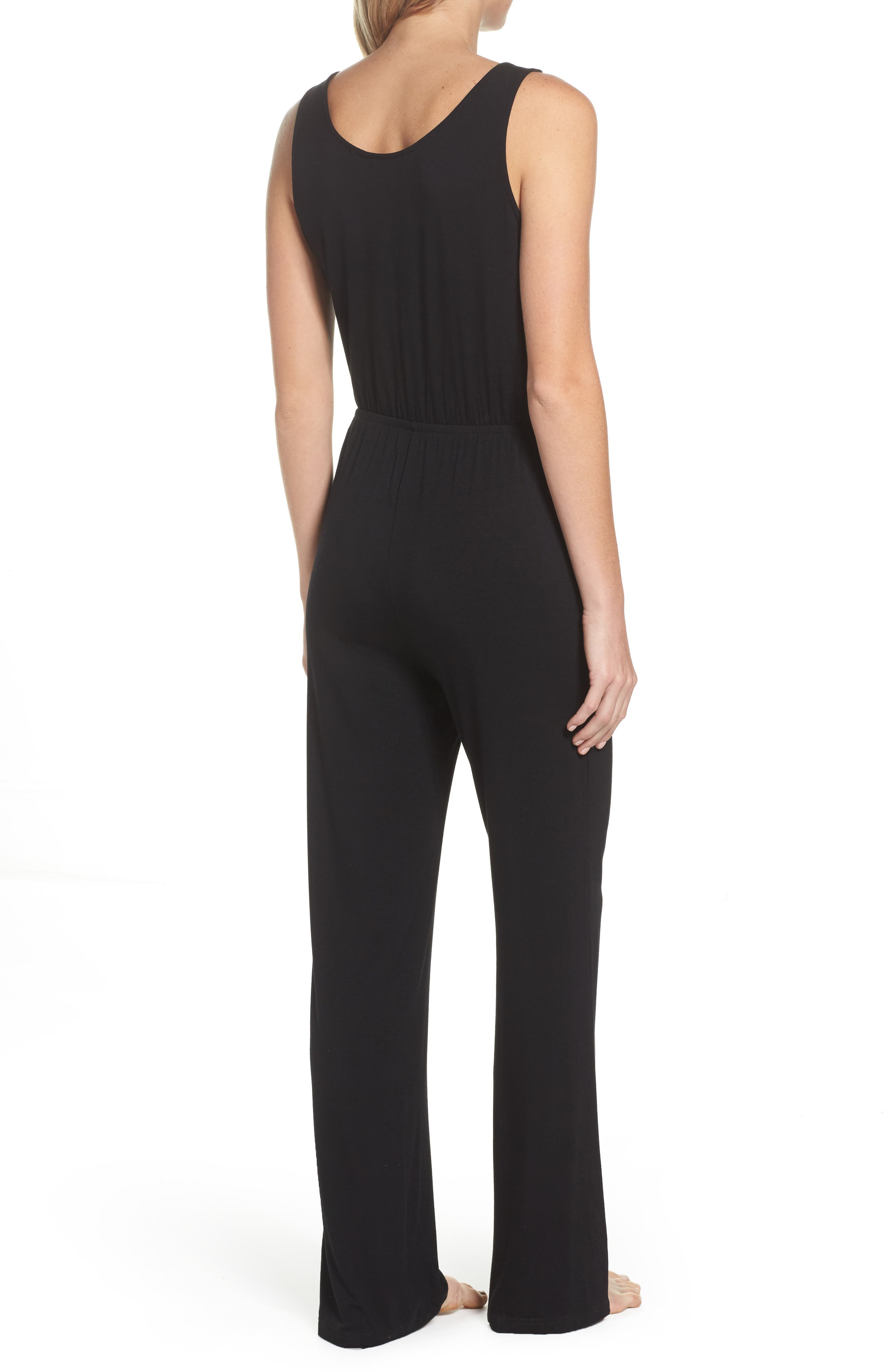 Alternate Image 2  - BB Dakota Catalina Knit Lounge Jumpsuit
