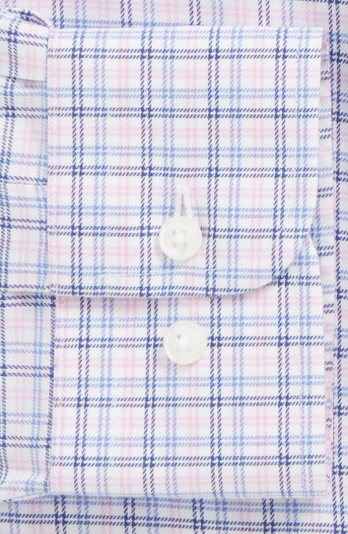 Smartcare<sup>™</sup> Traditional Fit Check Dress Shirt,                             Alternate thumbnail 2, color,                             Pink Lavender