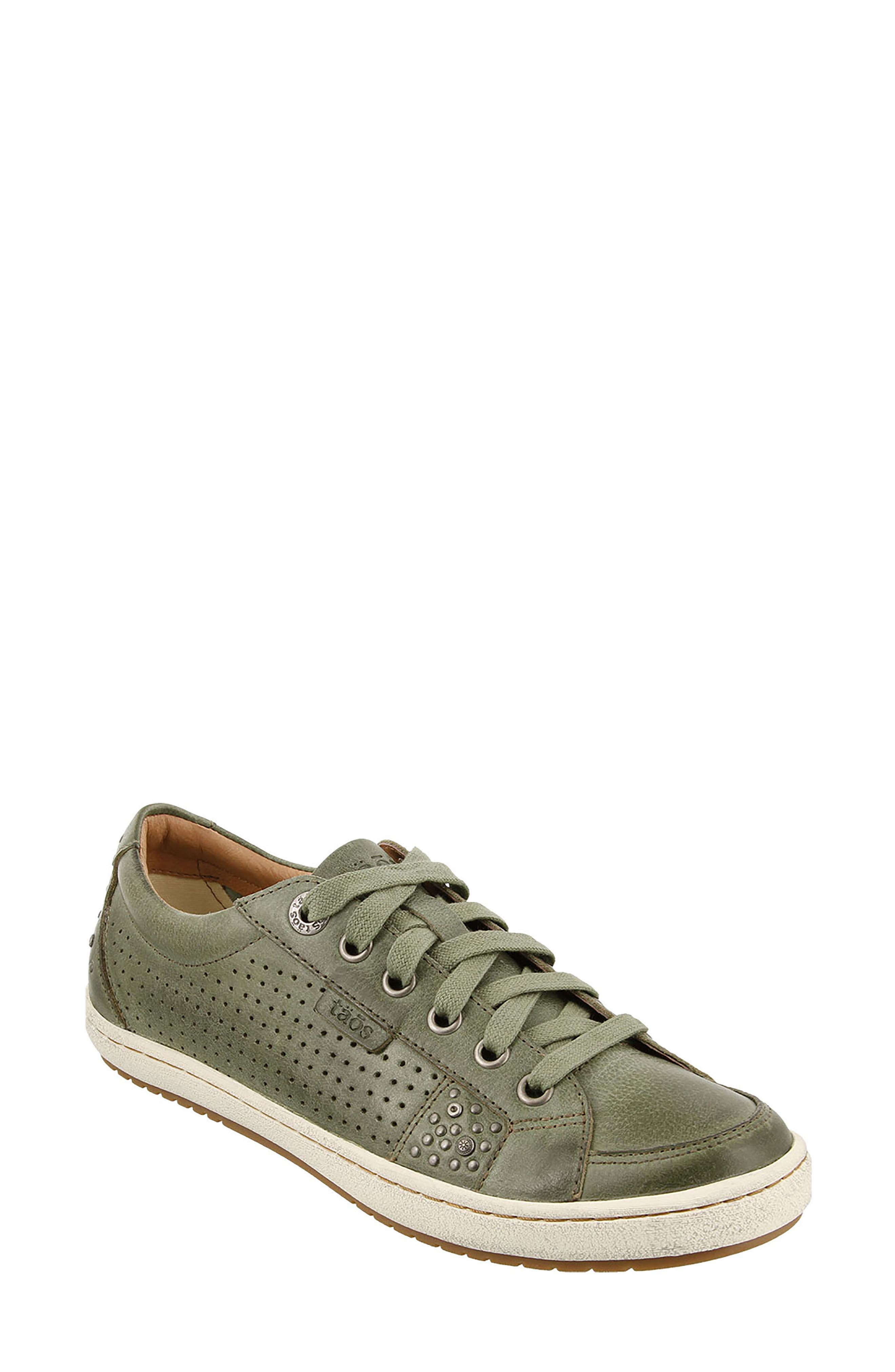 'Freedom' Sneaker,                         Main,                         color, Sage Leather