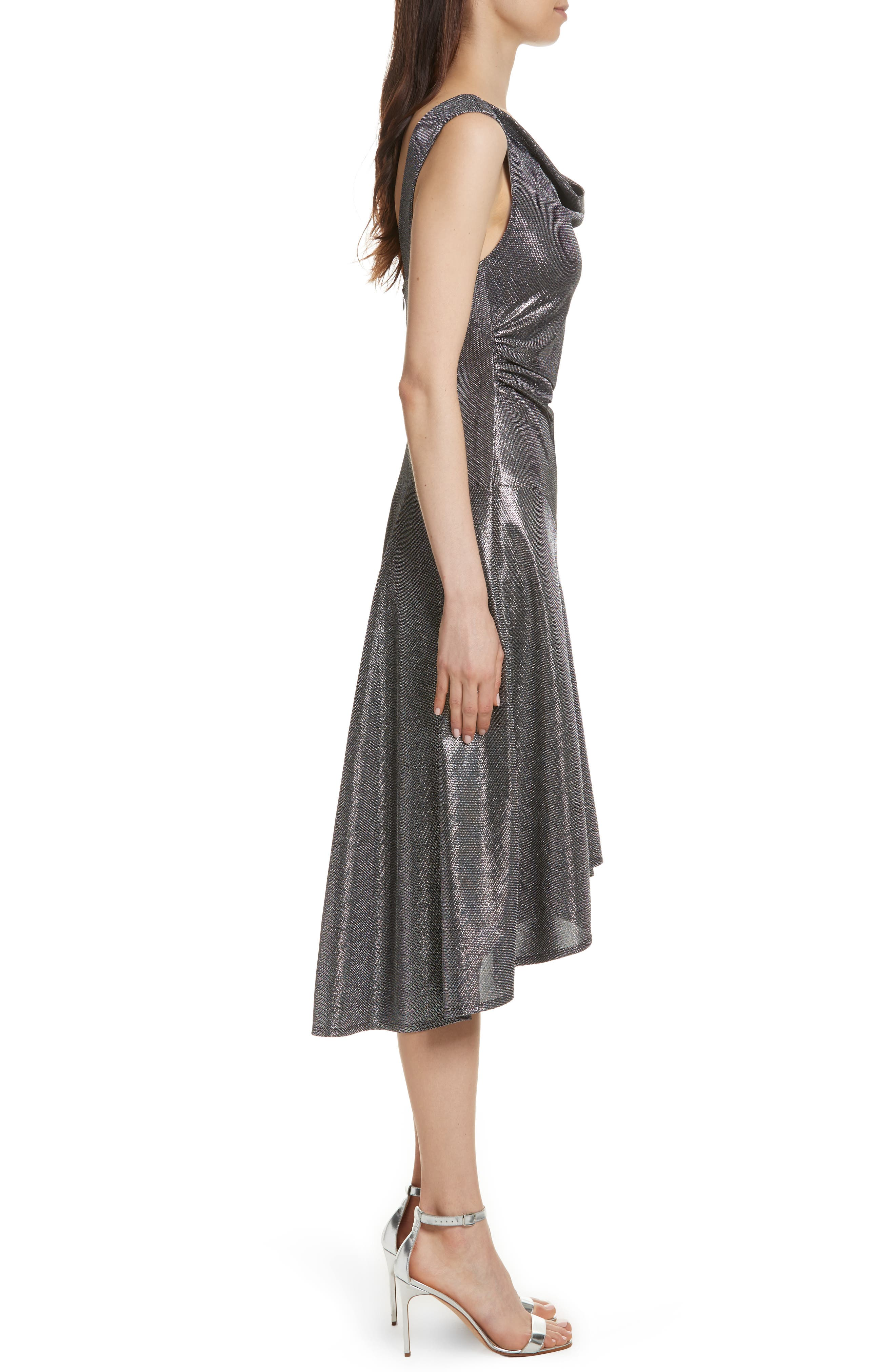 Alternate Image 3  - Tracy Reese Draped High/Low Dress