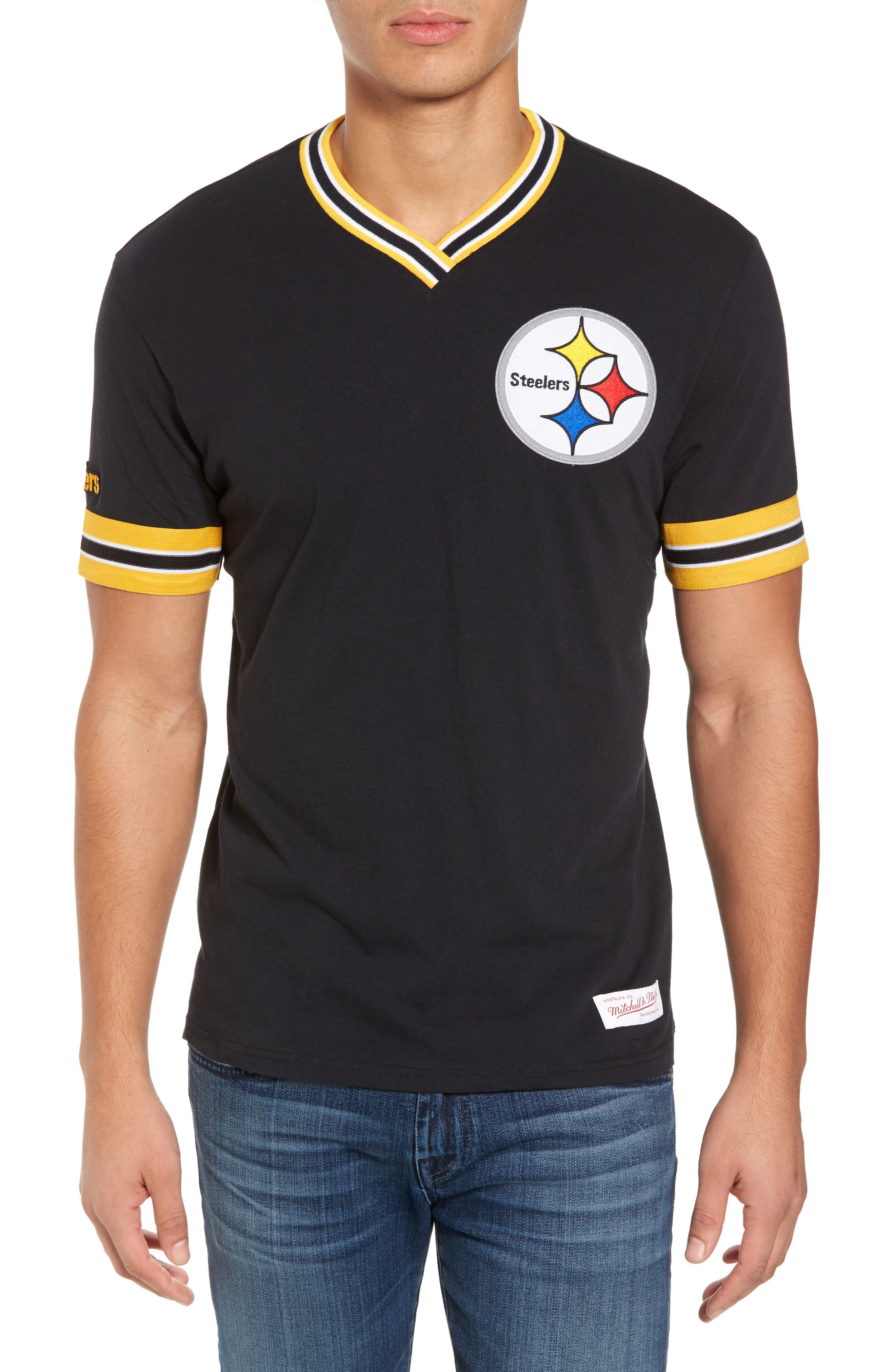 Mitchell & Ness NFL Steelers T-Shirt
