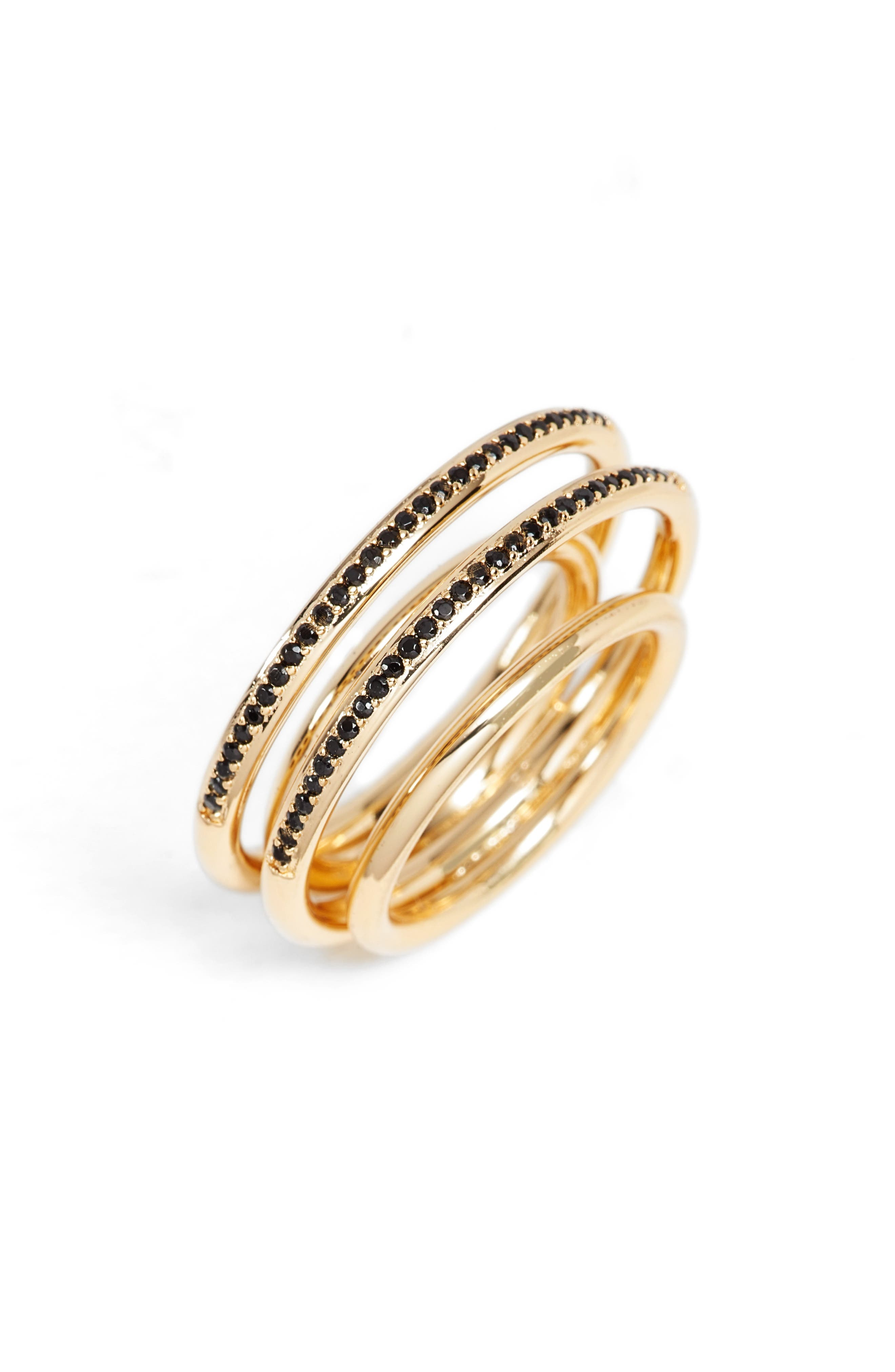 Pavé Ring,                             Main thumbnail 1, color,                             Gold