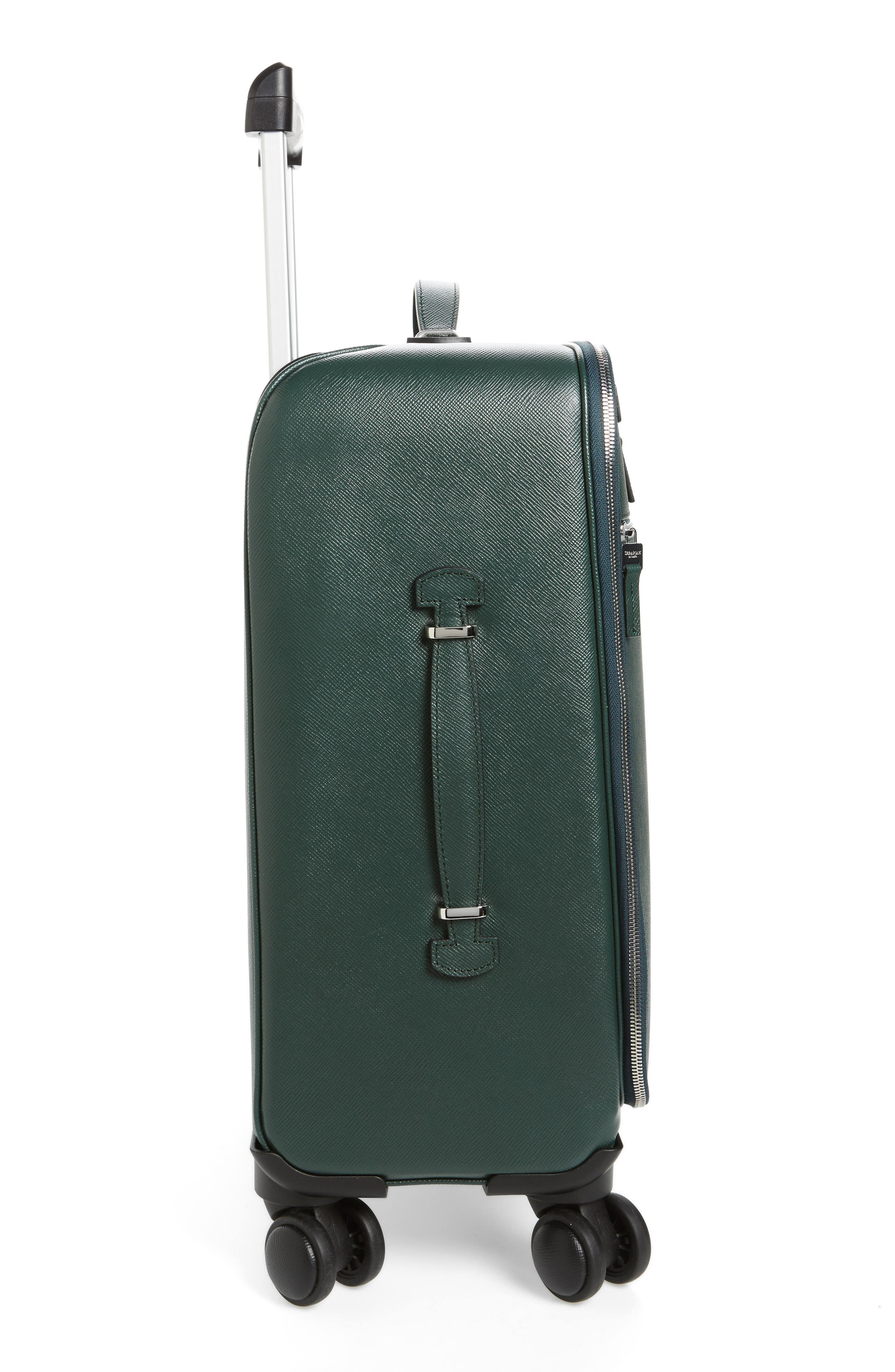 Alternate Image 3  - Serapian Milano Trolley Spinner Wheeled Carry-On Suitcase