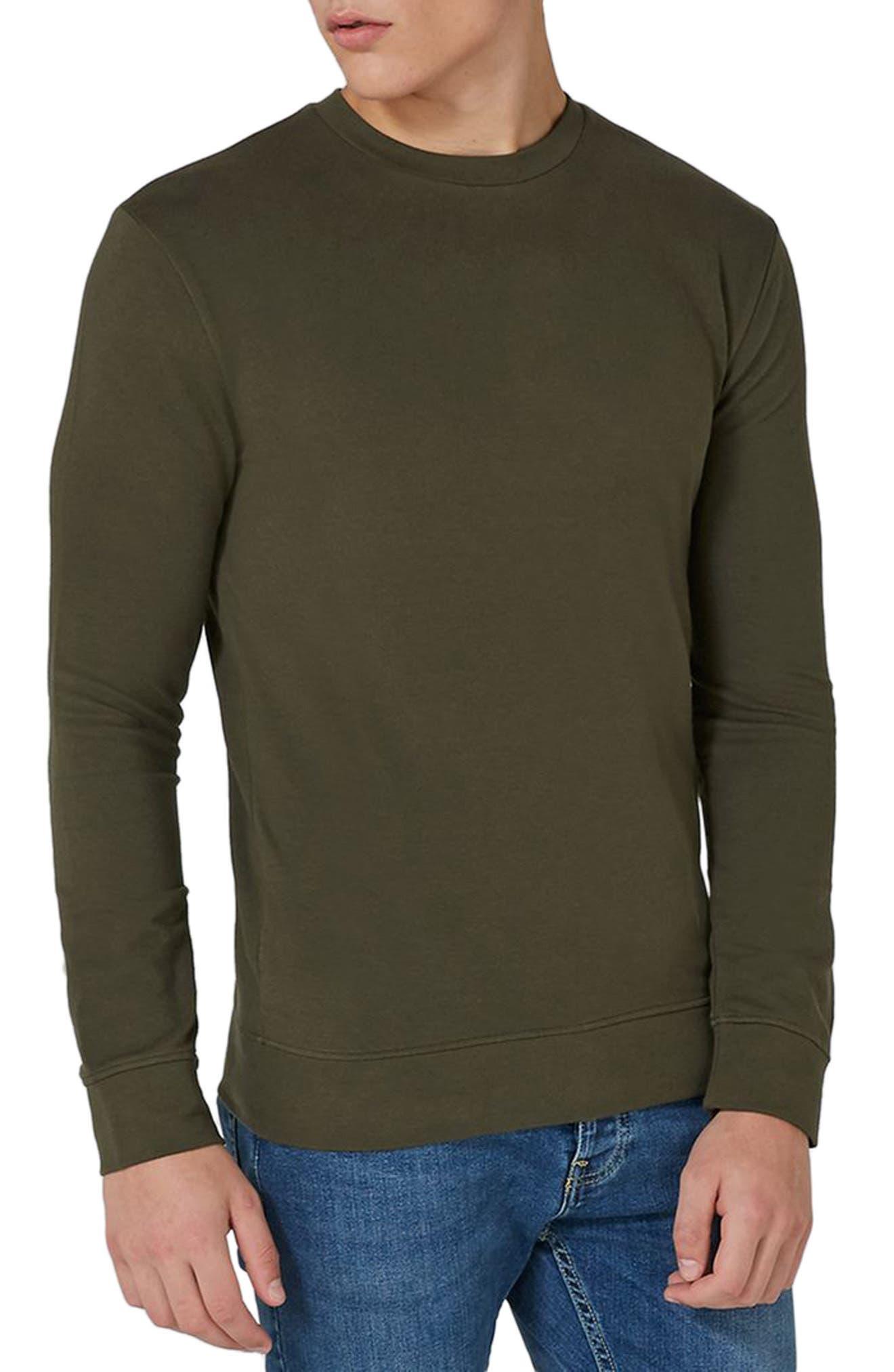 Topman Ultra Muscle Fit Sweatshirt
