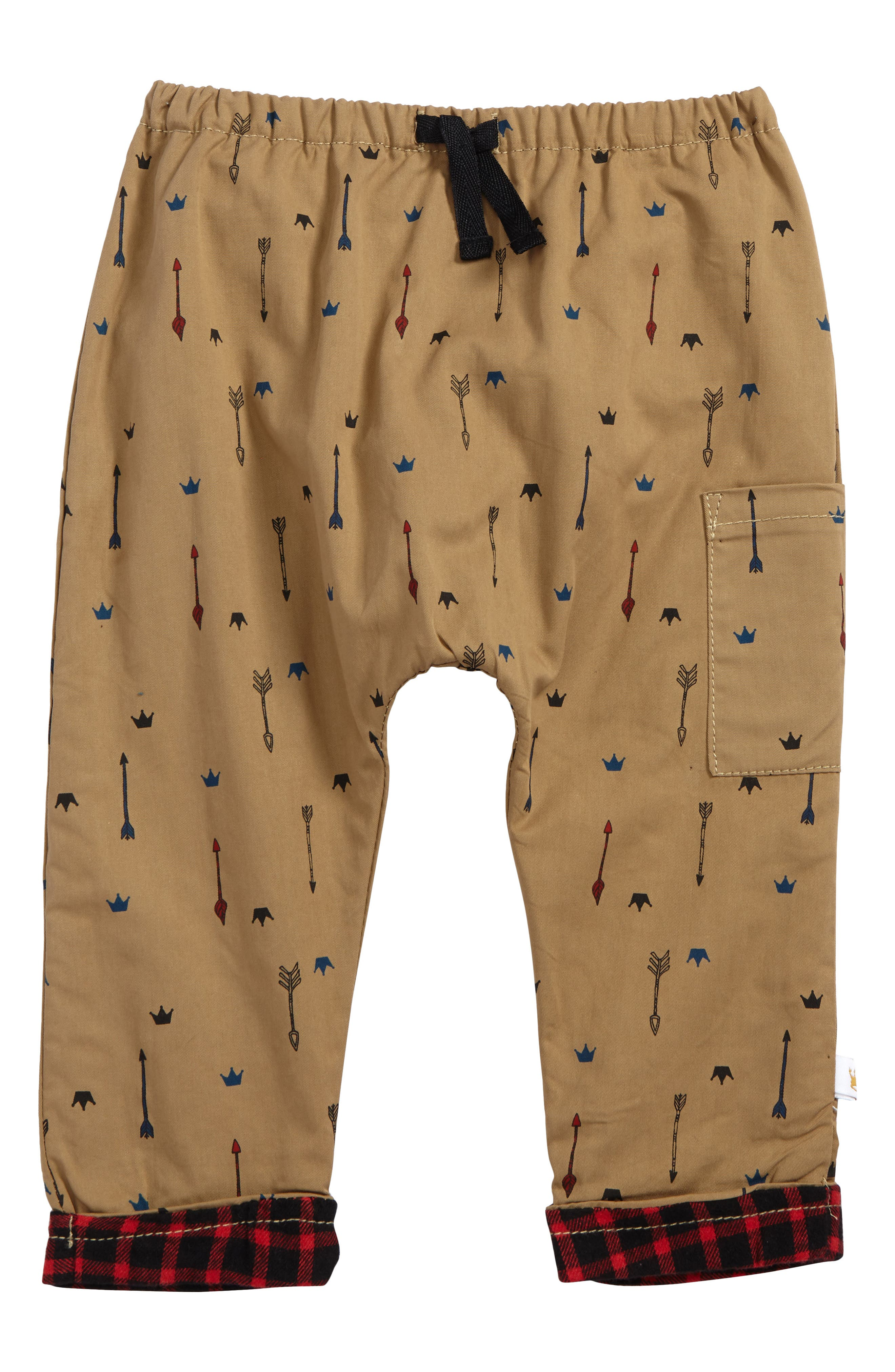 Rosie Pope Print Jogger Pants (Baby Boys)