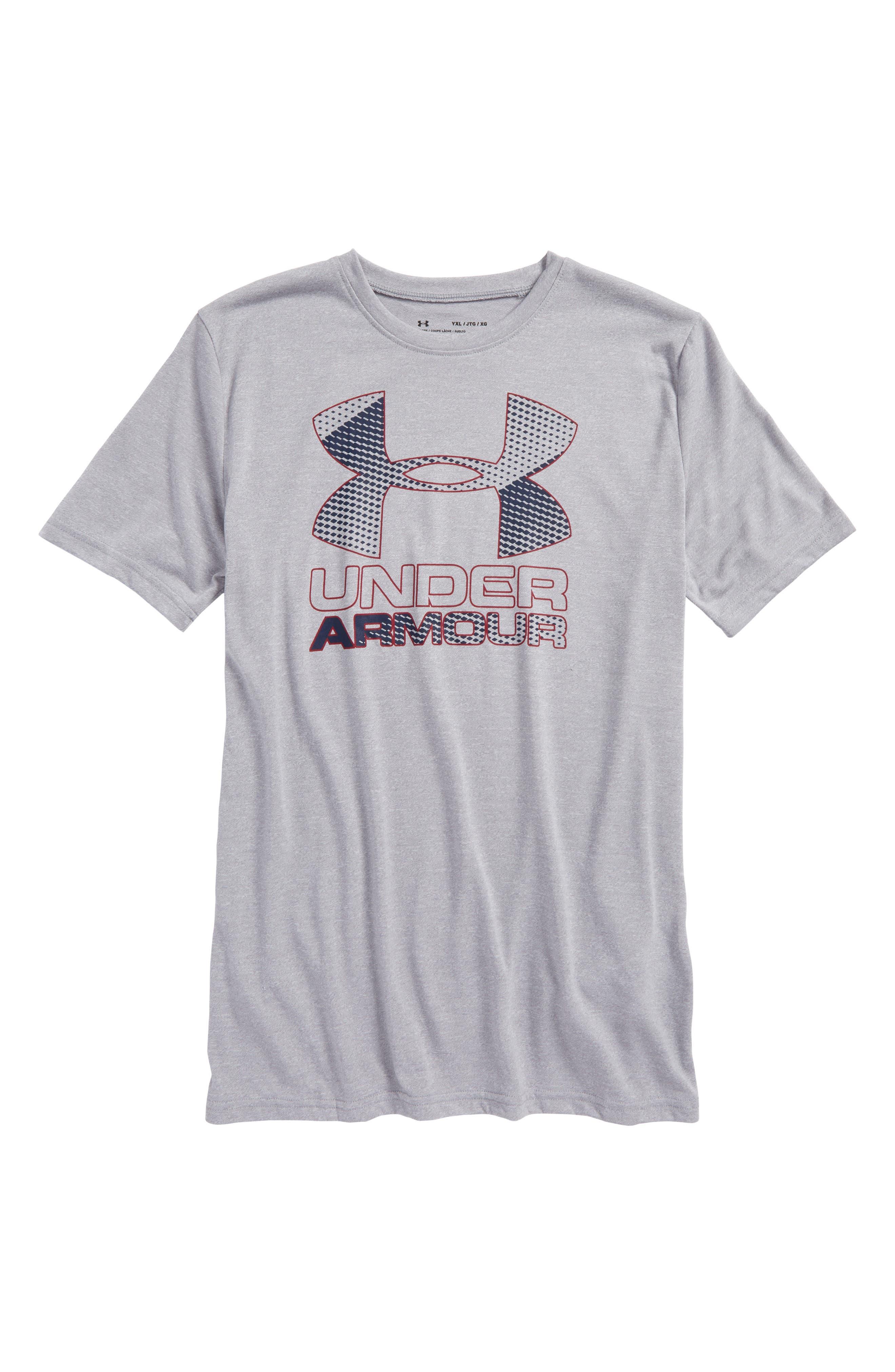 Under Armour Big Logo Hybrid 2.0 HeatGear® T-Shirt (Little Boys & Big Boys)