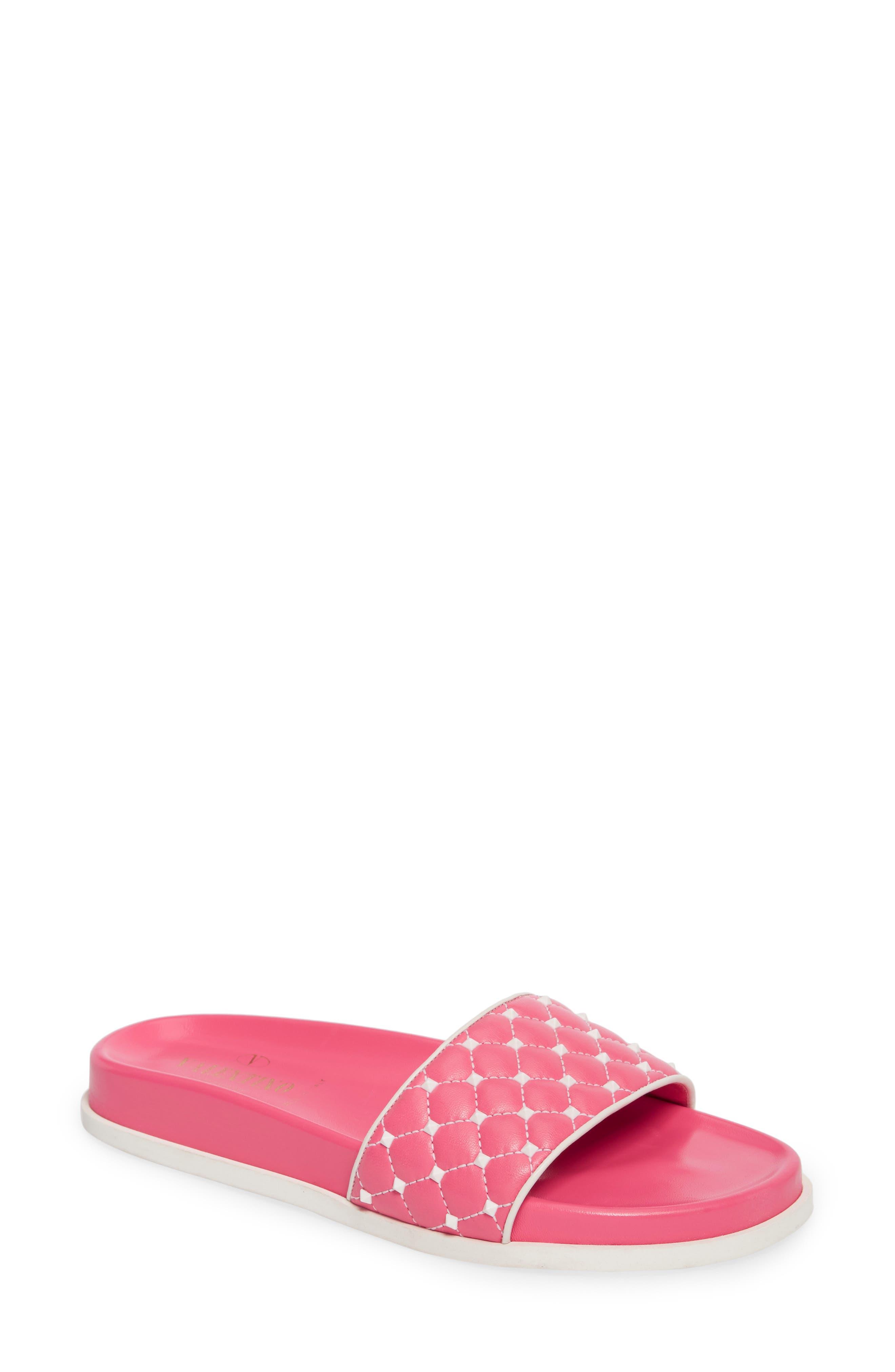 VALENTINO GARAVANI Free Rockstud Slide Sandal (Women)