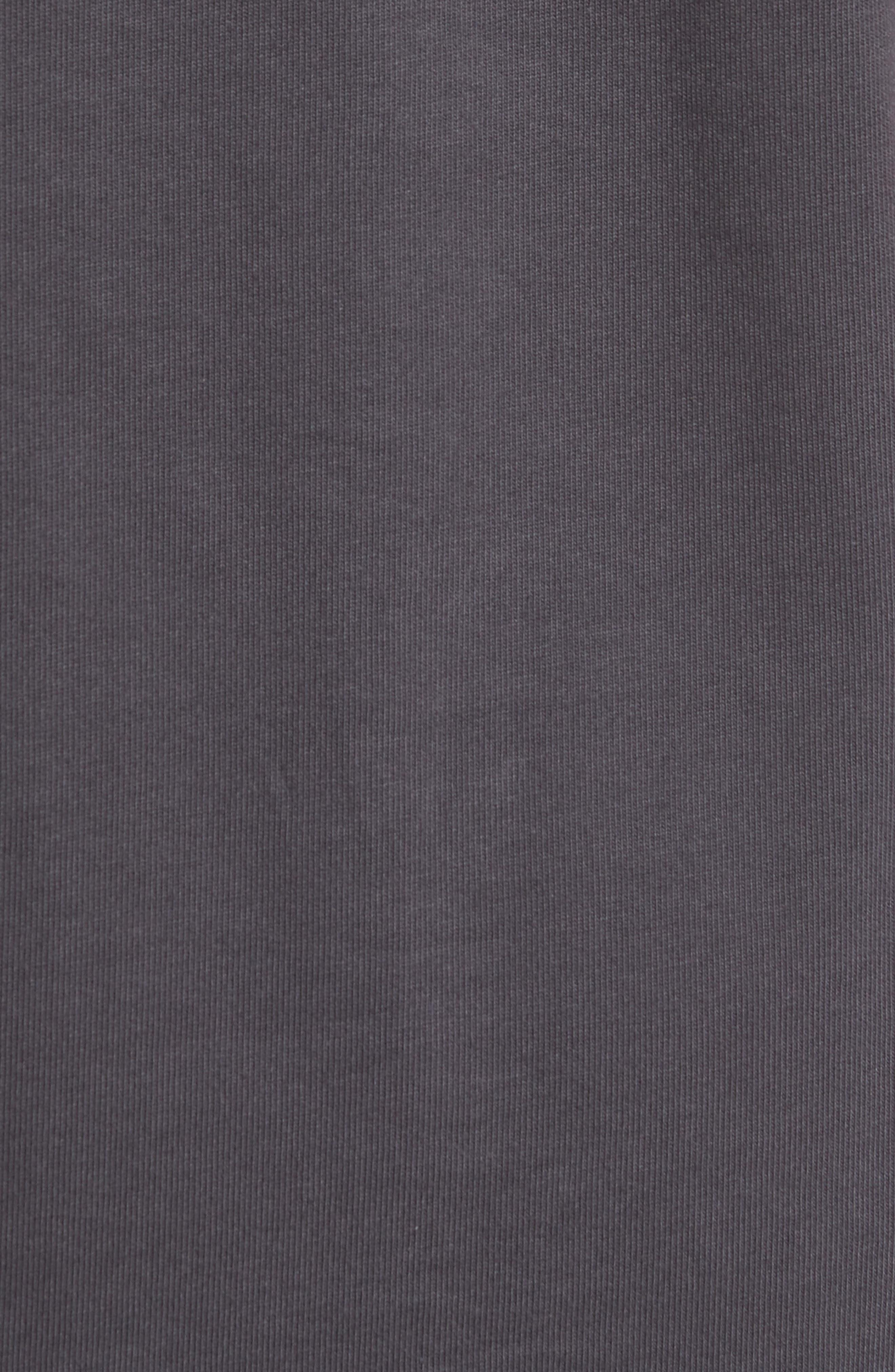 Sportswear 23 Engineered T-Shirt,                             Alternate thumbnail 5, color,                             Anthracite/ Black