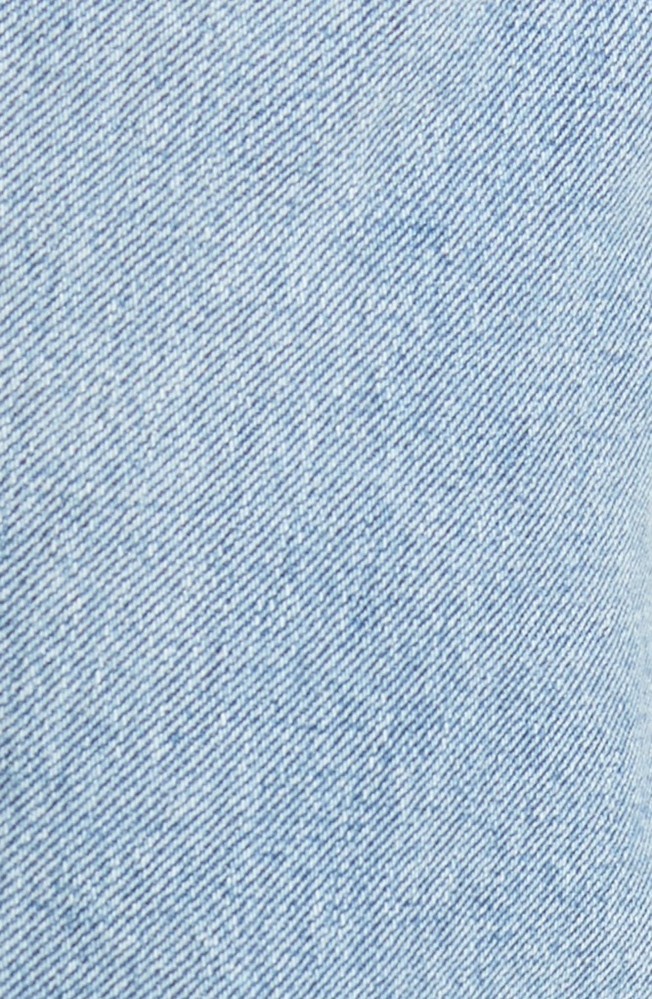 501<sup>™</sup> Slim Straight Leg Jeans,                             Alternate thumbnail 5, color,                             Mowhawk