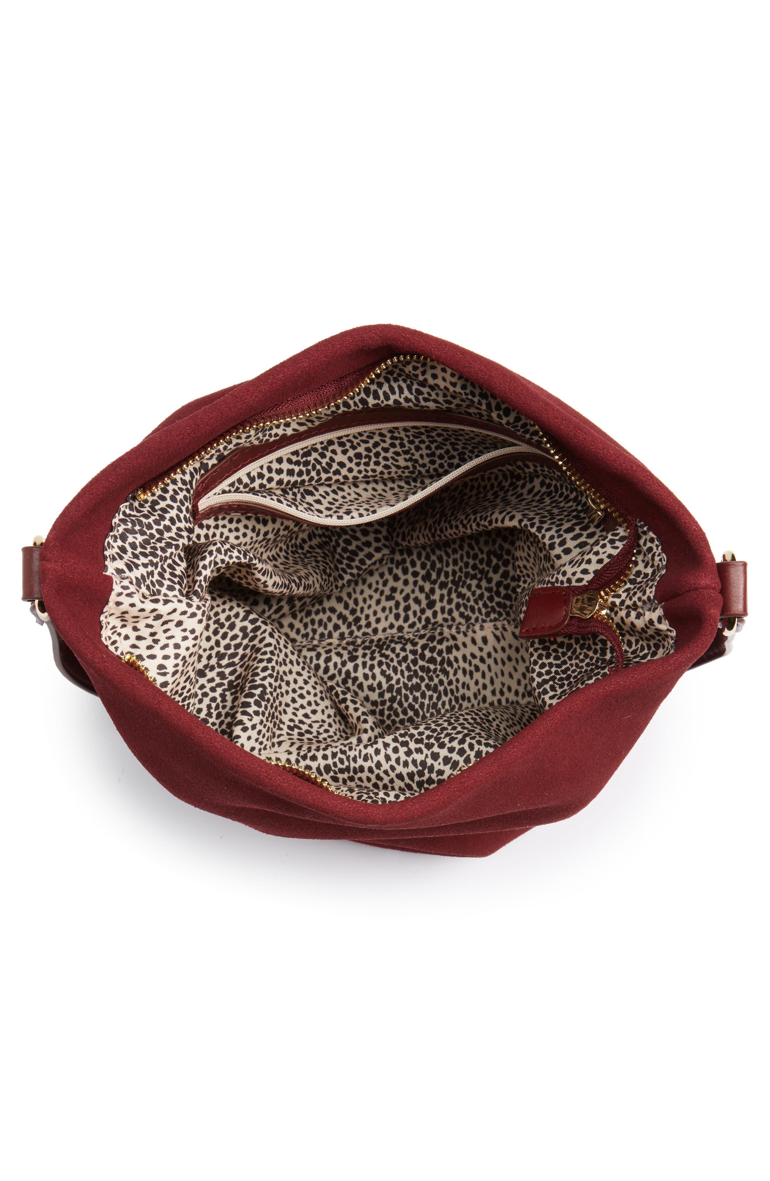 Alternate Image 4  - Sole Society Lana Slouchy Suede Crossbody Bag
