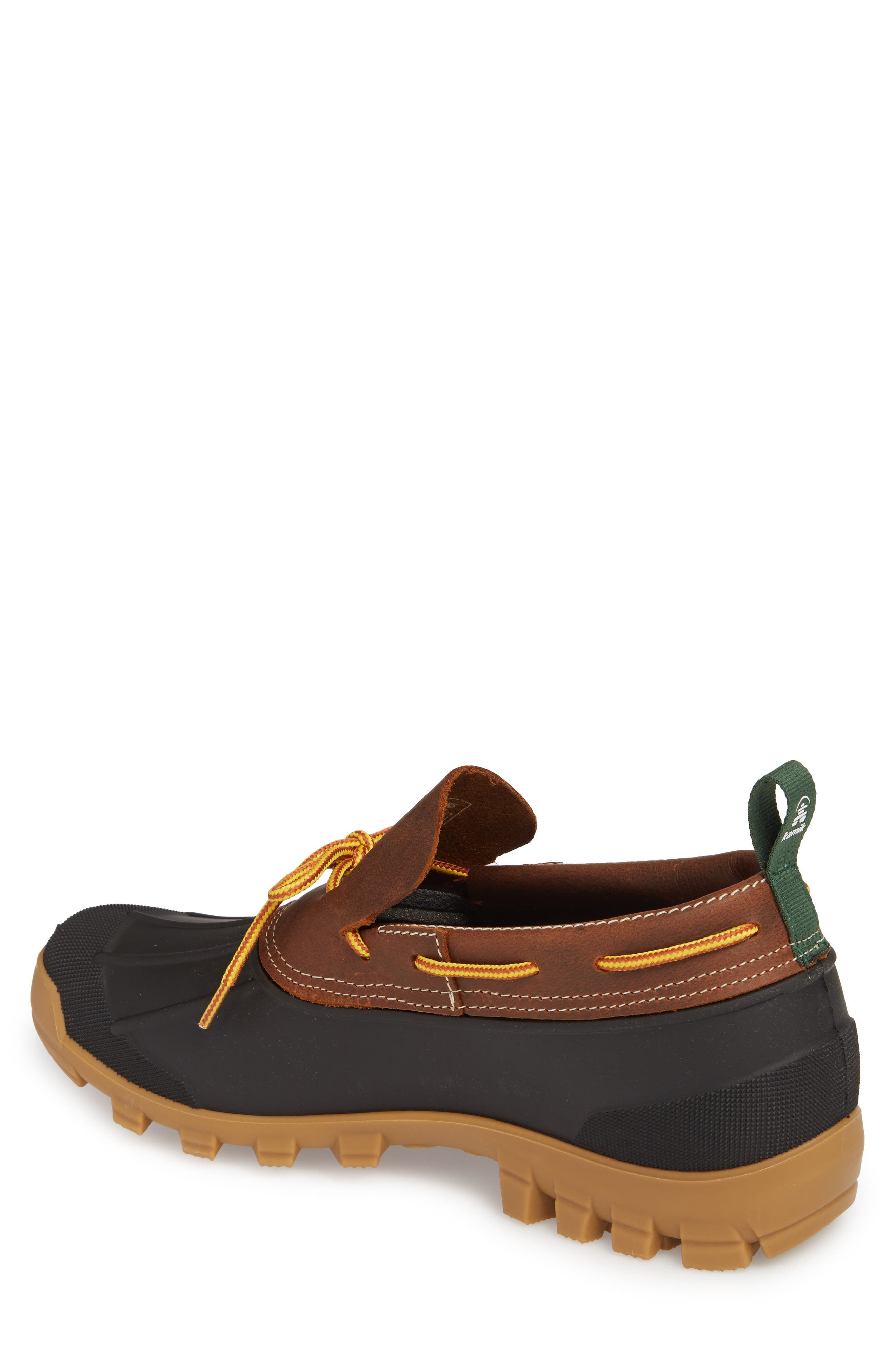 Yukon Short Boot,                             Alternate thumbnail 2, color,                             Dark Brown Leather