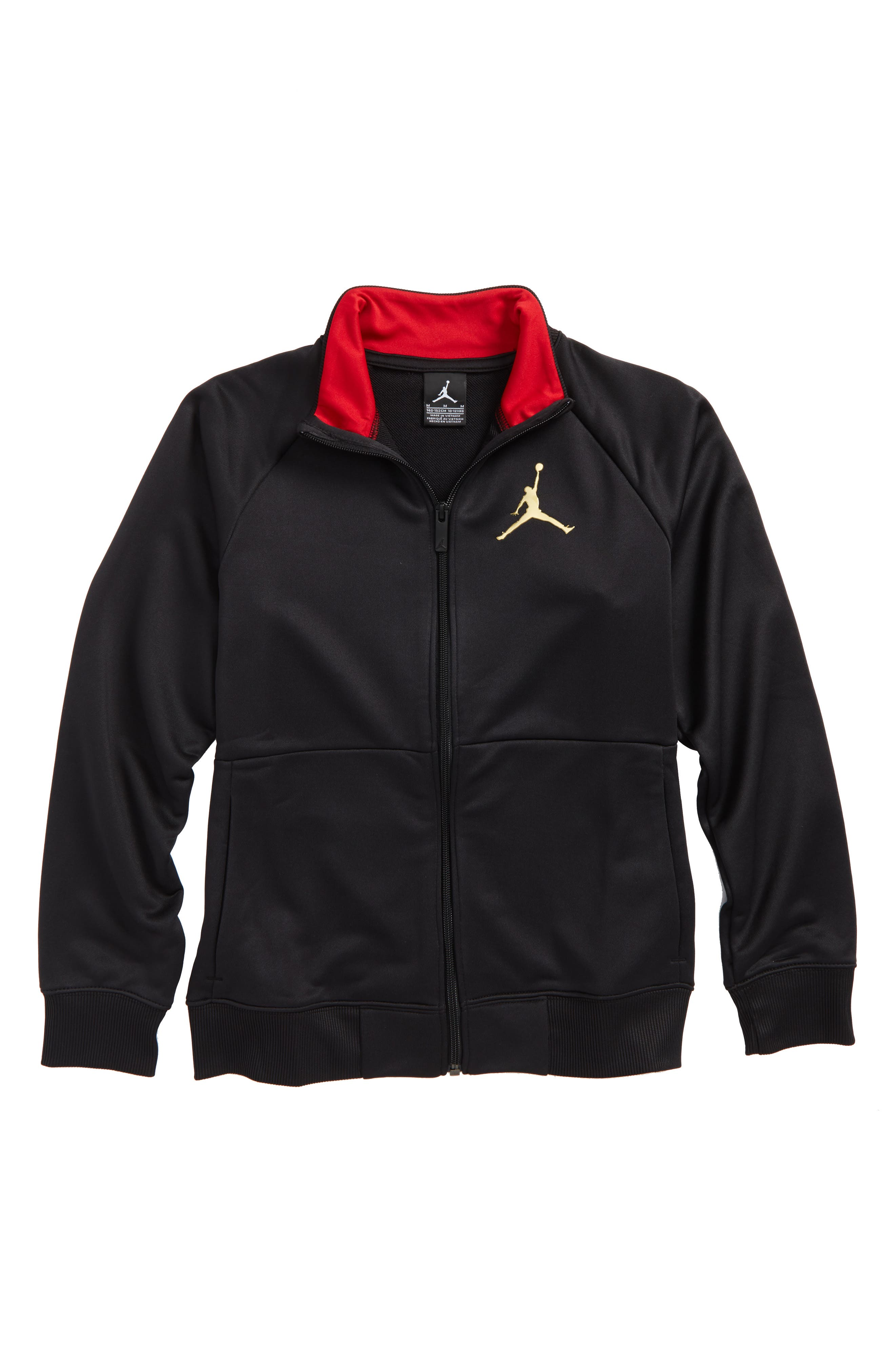 Jordan Stealth Tricot Track Jacket (Big Boys)