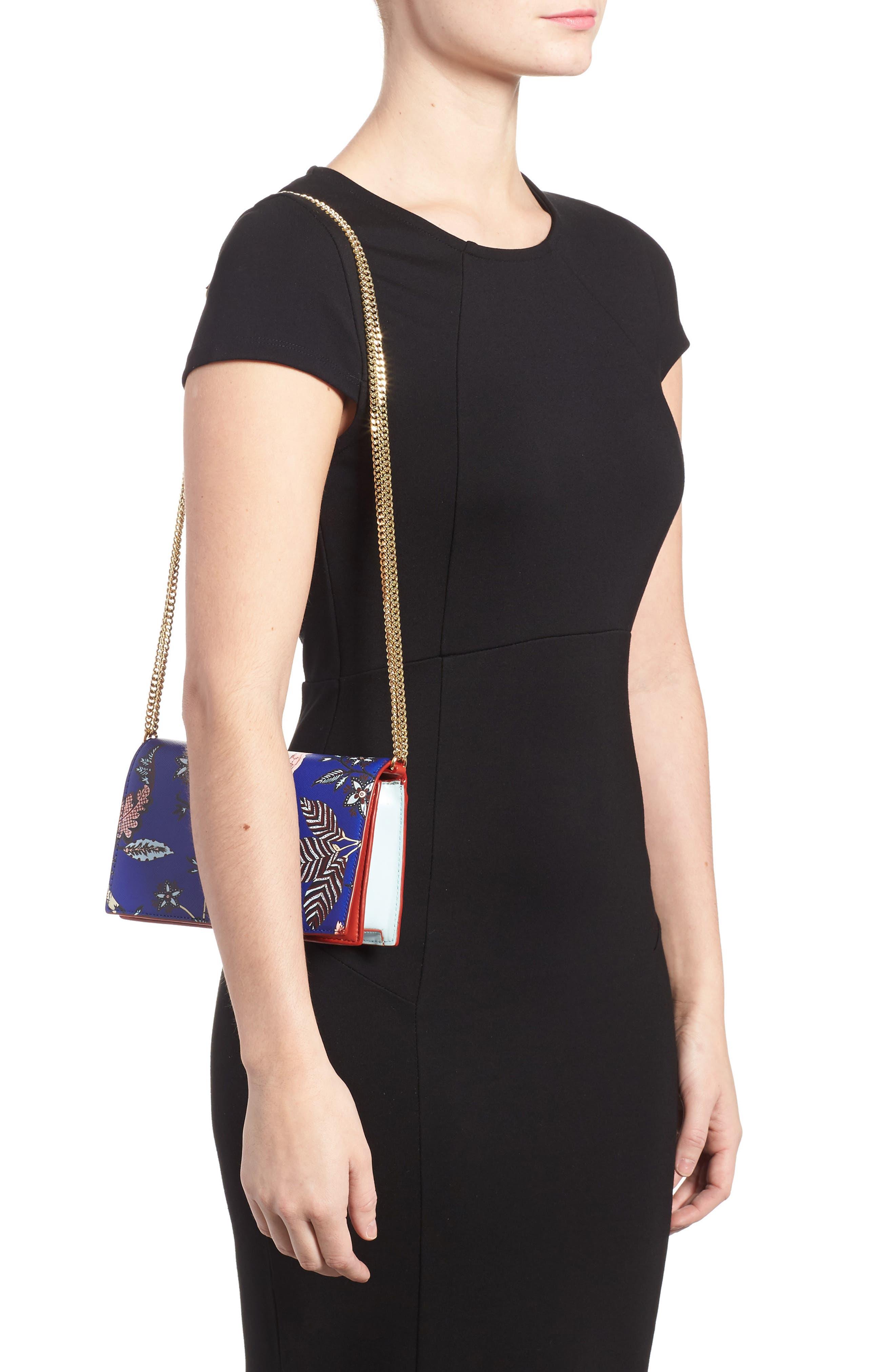 Alternate Image 2  - Diane von Furstenberg Soirée Leather Convertible Crossbody Bag
