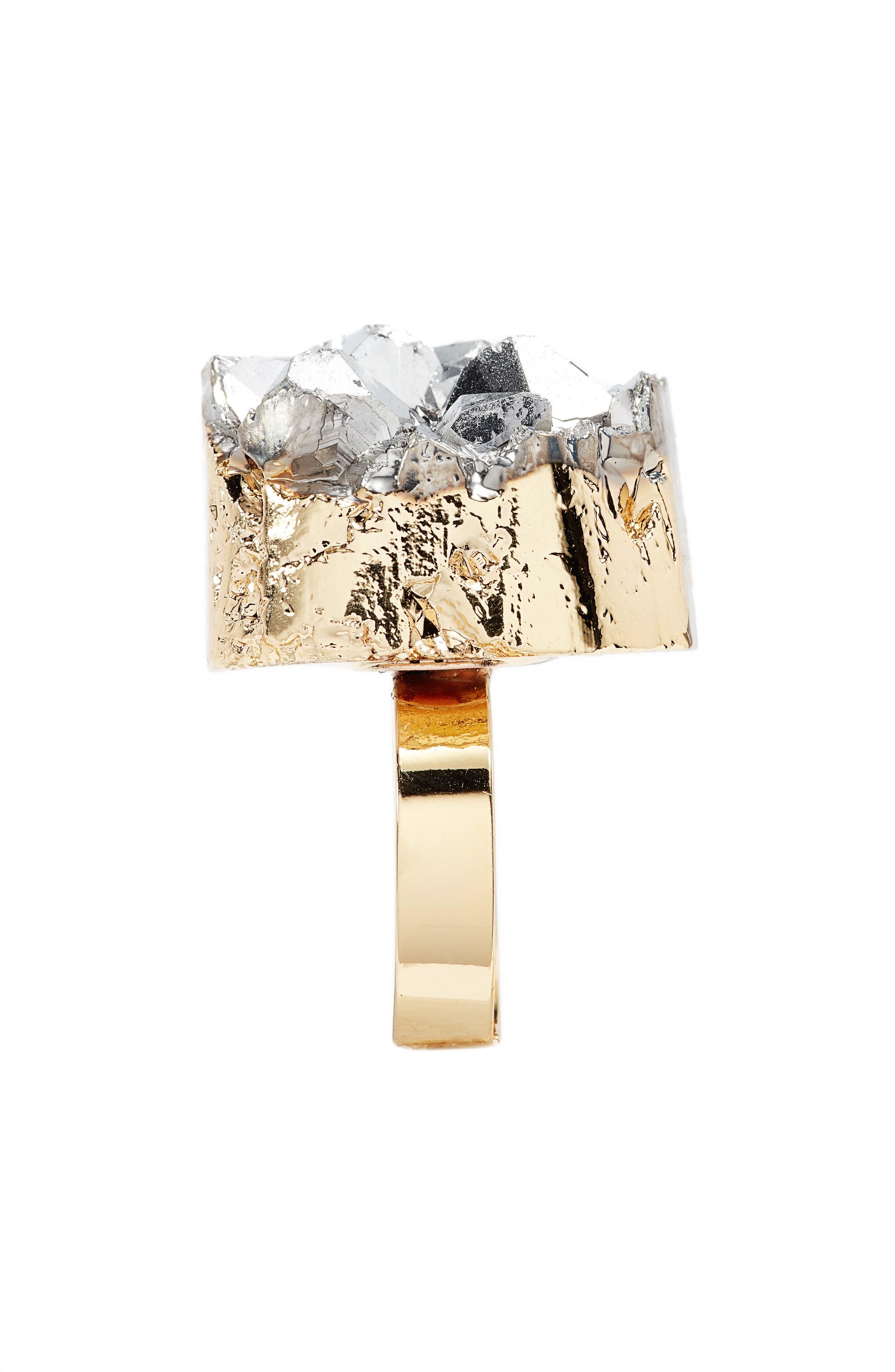 Alternate Image 2  - Elise M. Noa Drusy Quartz Ring