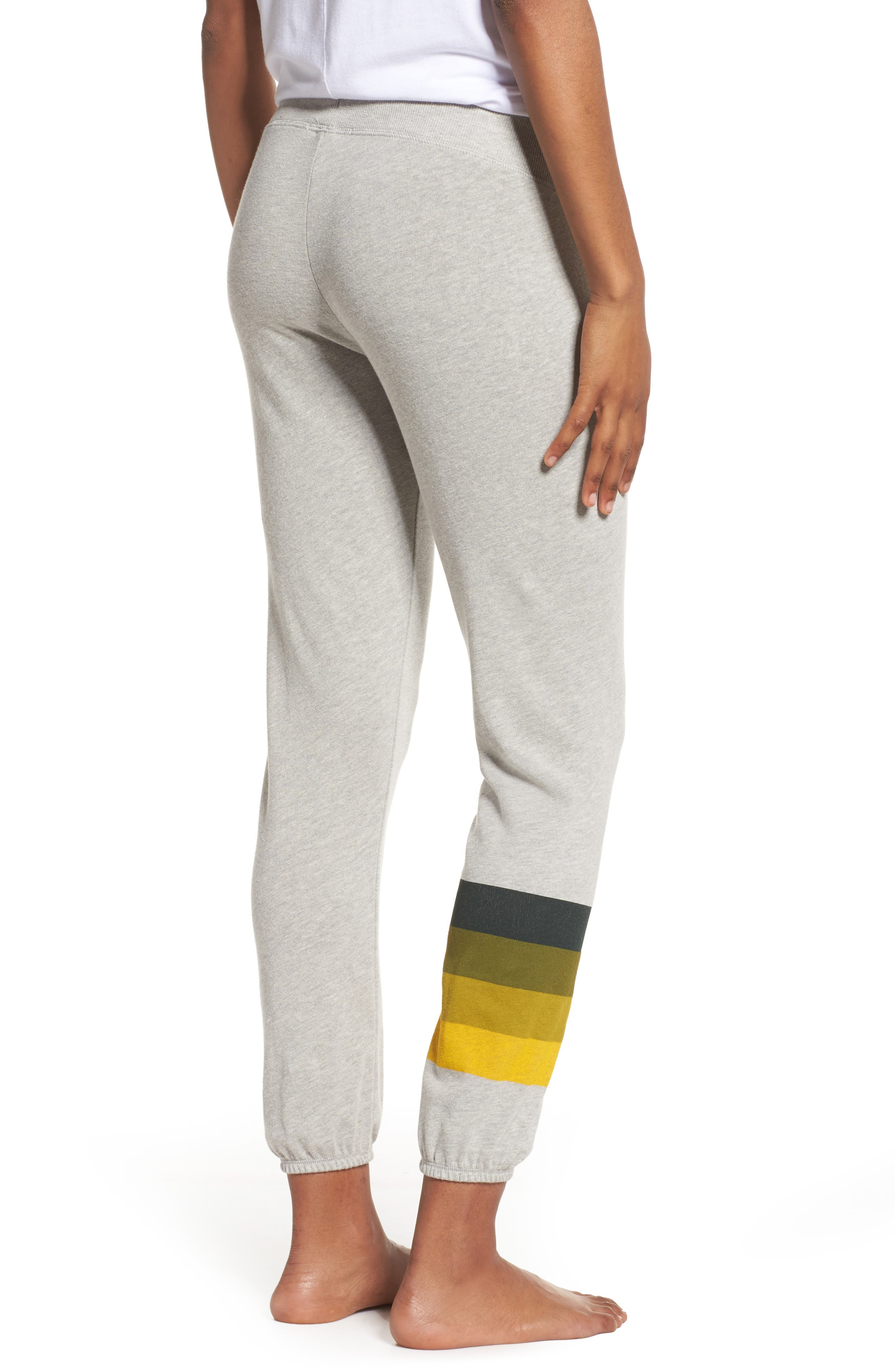 NFL Green Bay Packers Hacci Sweatpants,                             Alternate thumbnail 2, color,                             Dove Heather Grey