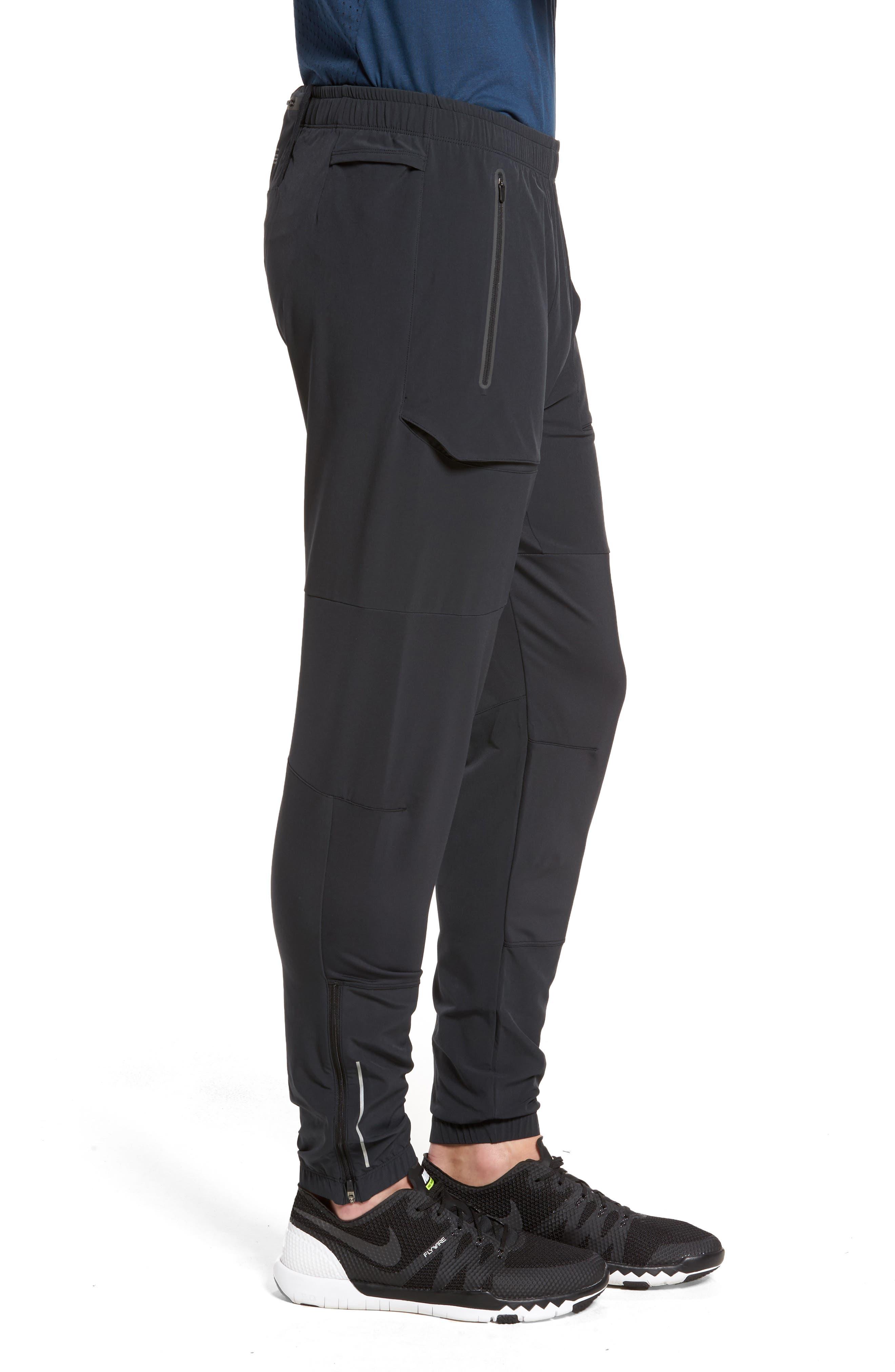 Running Pants,                             Alternate thumbnail 4, color,                             Black