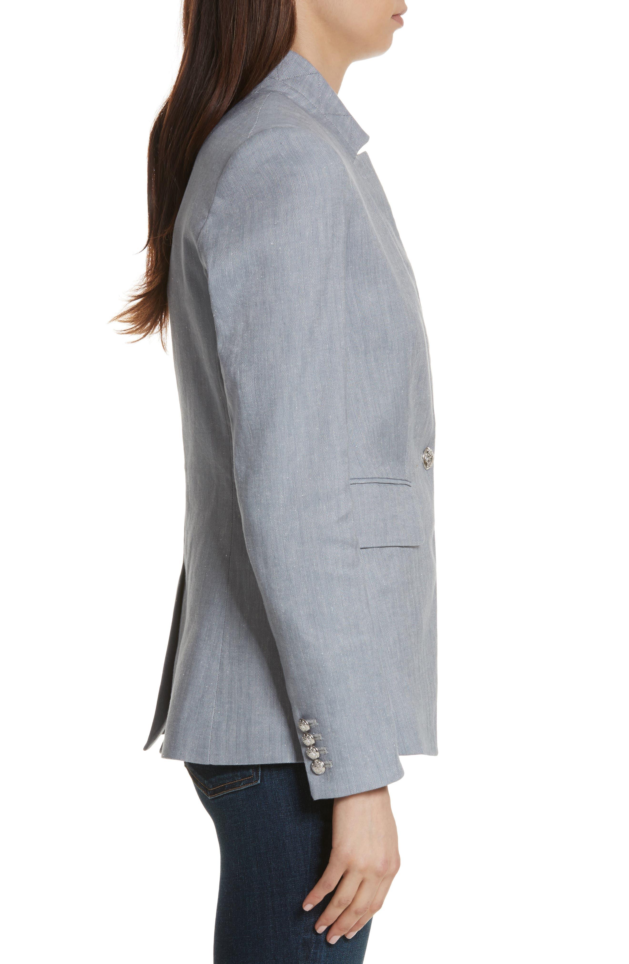Alternate Image 3  - Veronica Beard Upcollar Jacket