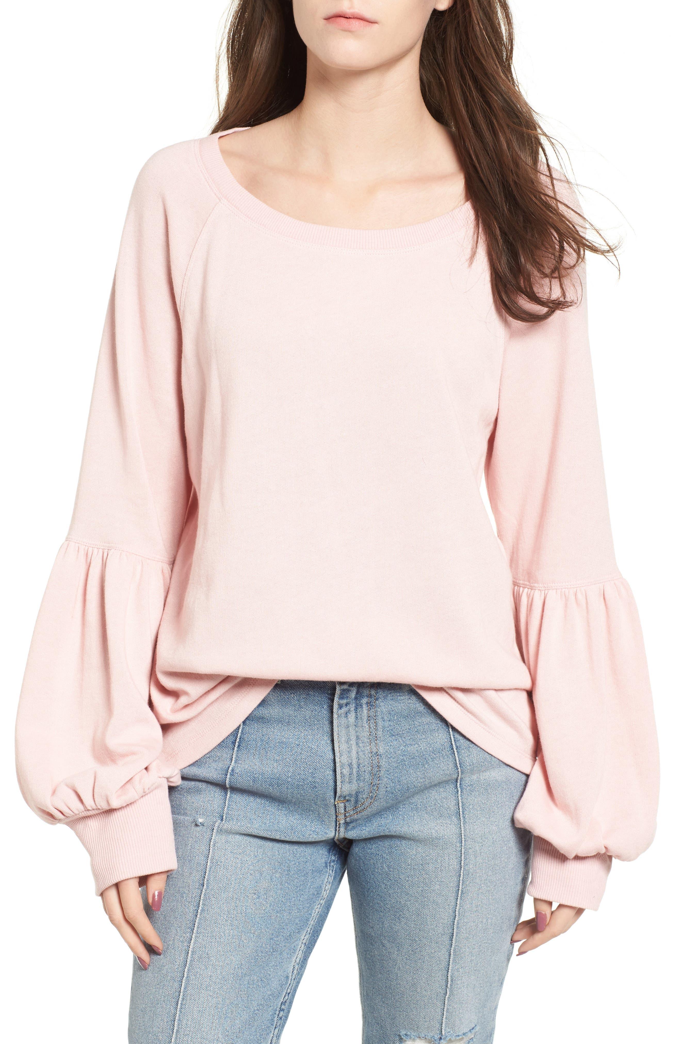 Alternate Image 1 Selected - BP. Blouson Sleeve Sweatshirt