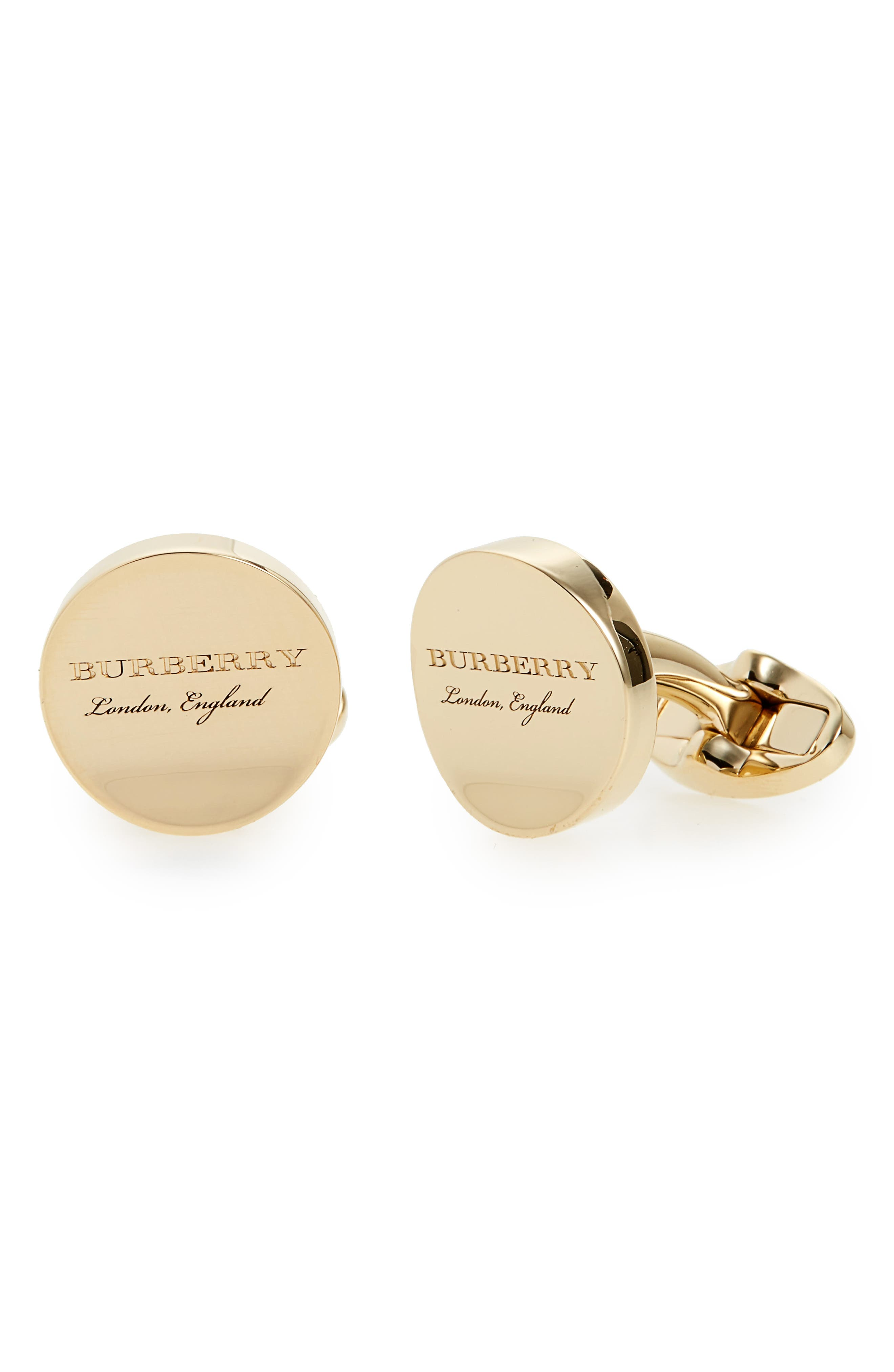 Burberry Concave Cuff Links