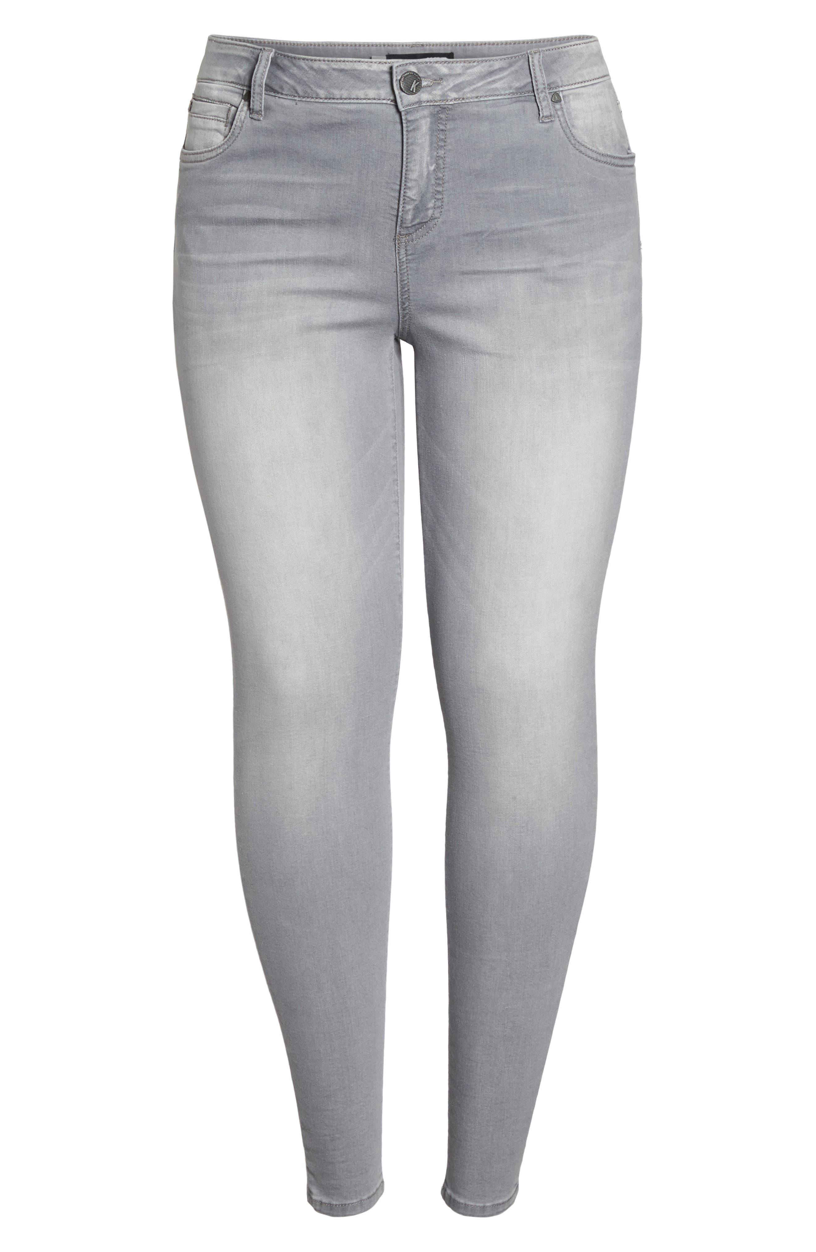 Mia Skinny Jeans,                             Alternate thumbnail 6, color,                             Prevailed